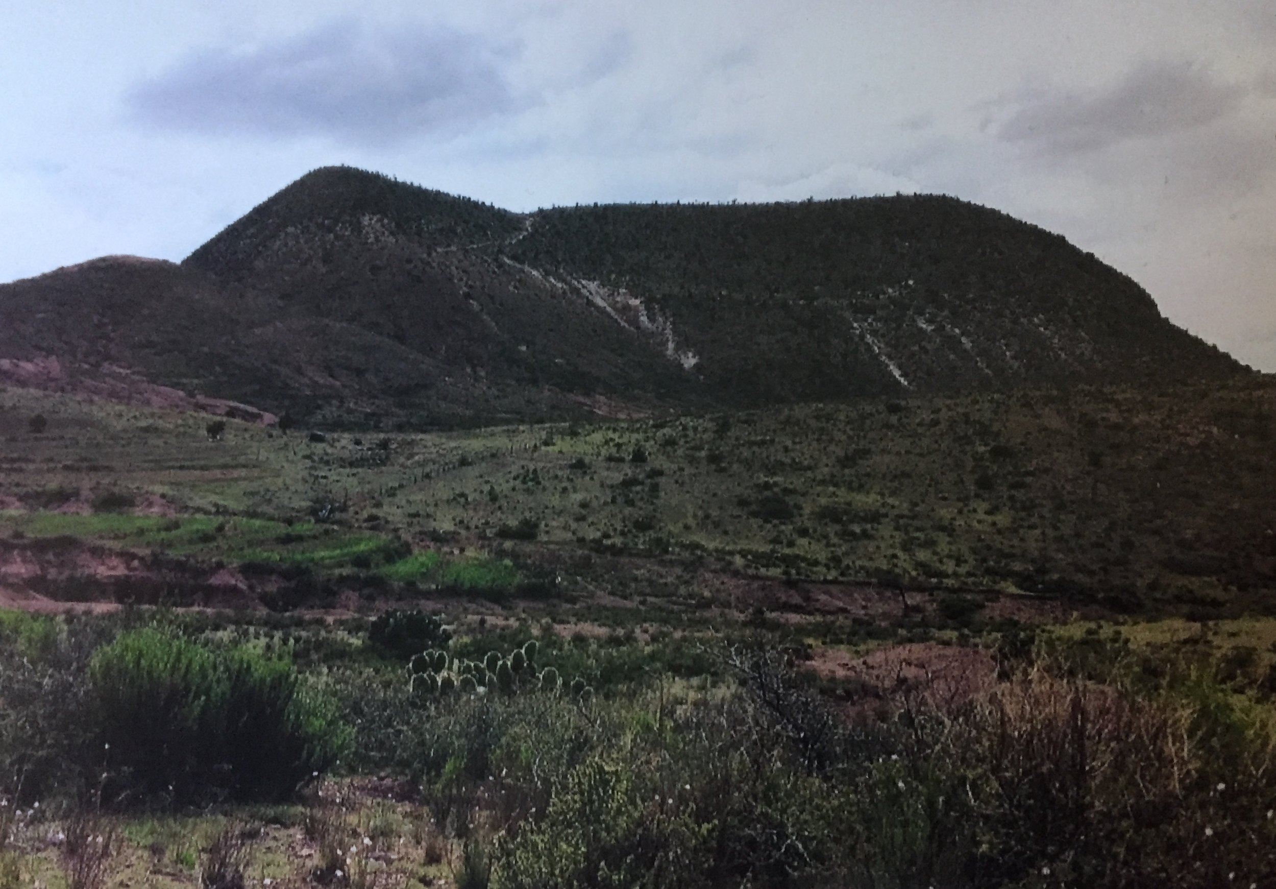 Cerro Quemado. Photo credit: Genie Hobbs