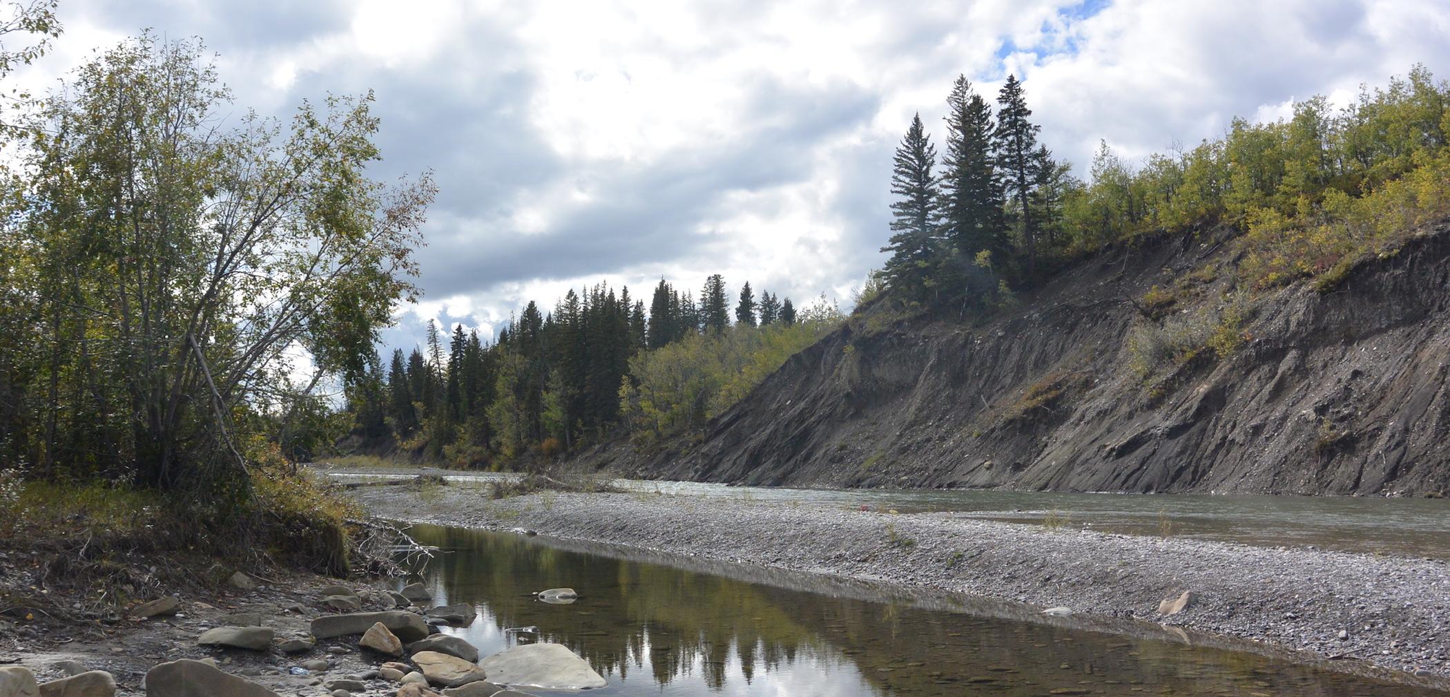 Elbow River at Kamp Kiwanis Calgary