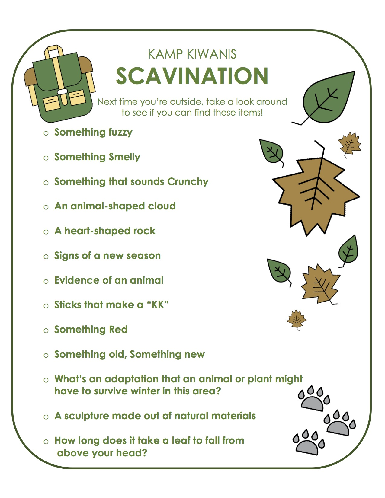 Scavination List