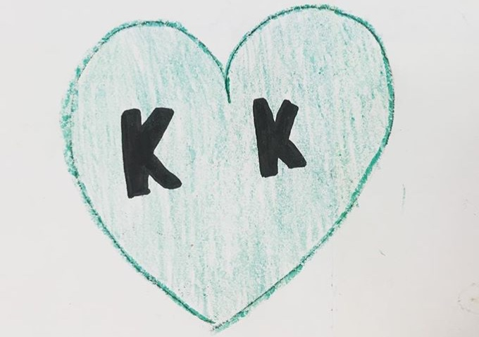 Drawing from a thank you card from Kamp Kiwanis participants