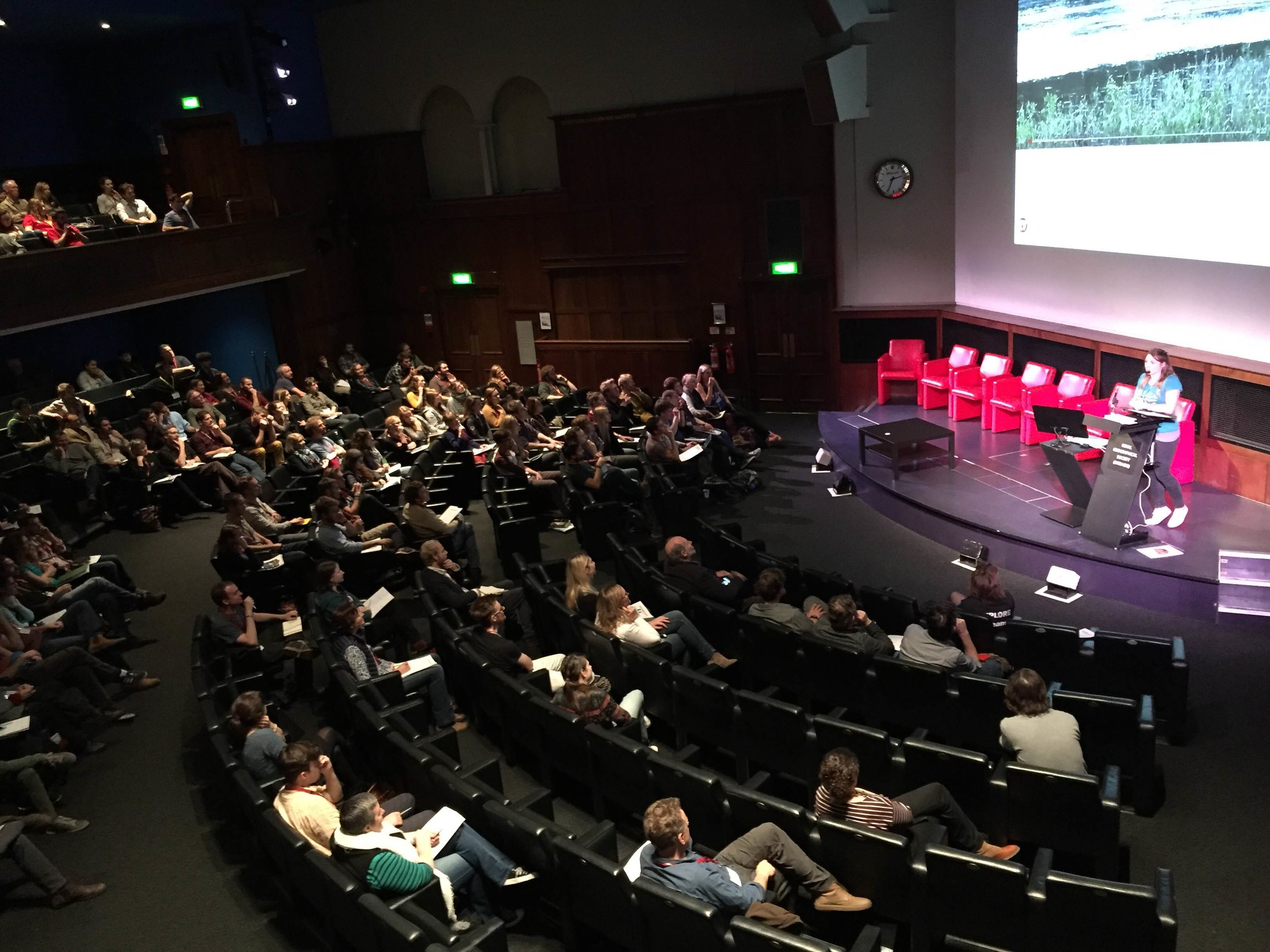 Speaking at the Royal Geographical Society, London