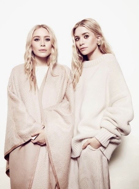 Mary-Kate and Ashley Olsen know all about tonal and monochromatic dressing, luxurious fabrics, proportion and draping. The current minimalists, and incredible ones at that. To find more inspiration, click  here .