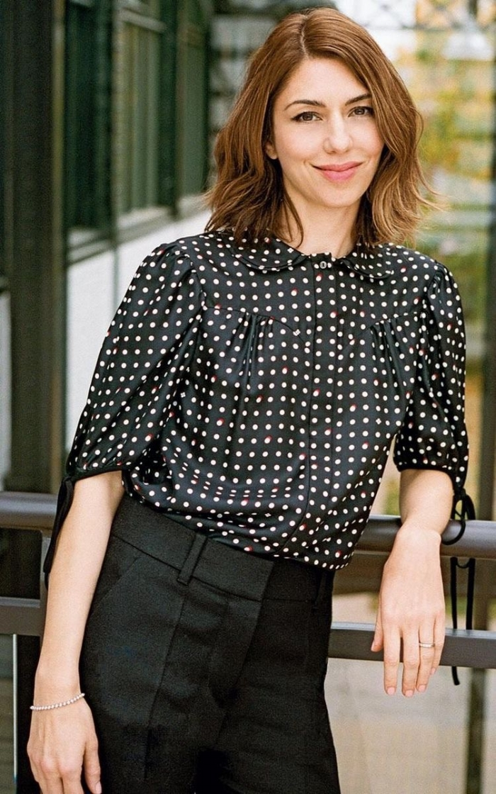 Sofia Coppola epitomizes classic style while ensuring it always feel contemporary and cool. To see more of her looks, check out my fashion muse page for her  here .