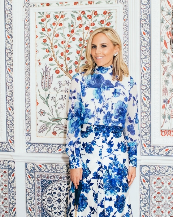 Tory Burch AW17 Wearing the Rosemont floral print