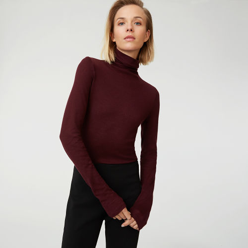 Club Monaco, Julie turtleneck - On Sale £83.70, Comes in a multitude of colours, textures and prints