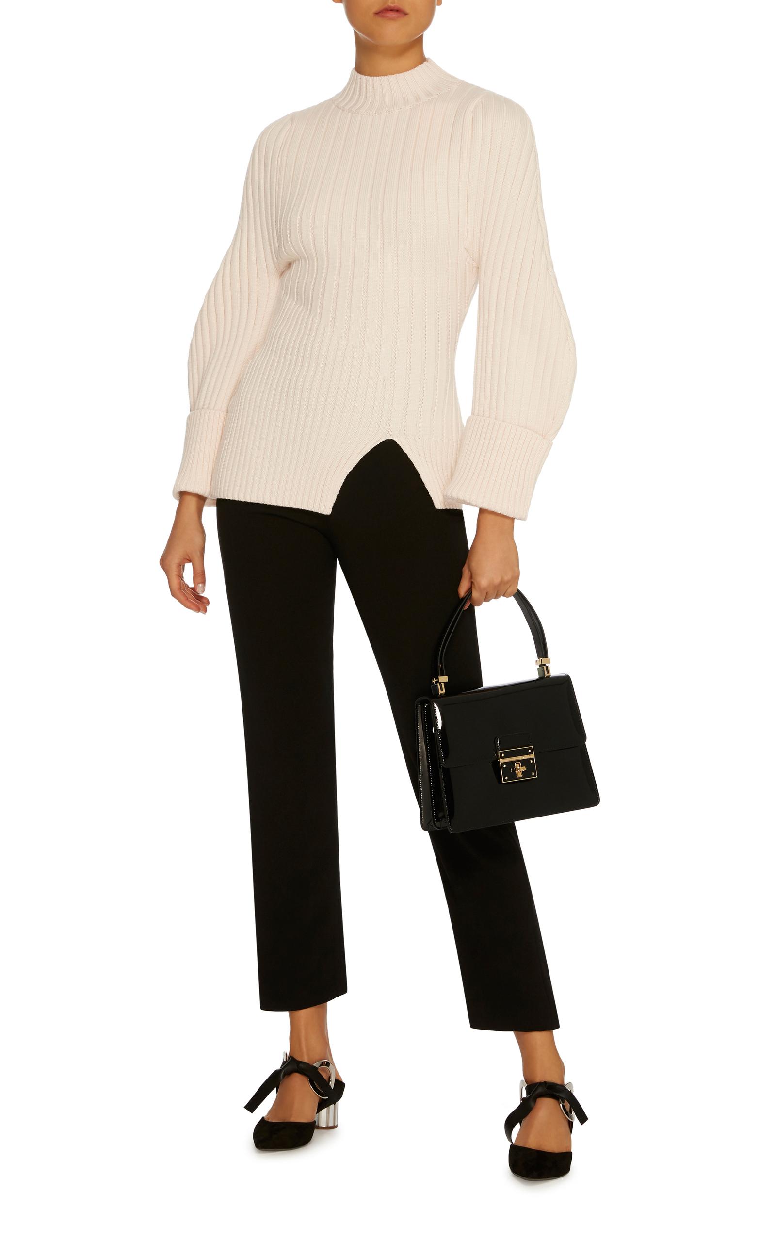 Moda Operandi Jacquemus Wide-Sleeve Knit Sweater - £531