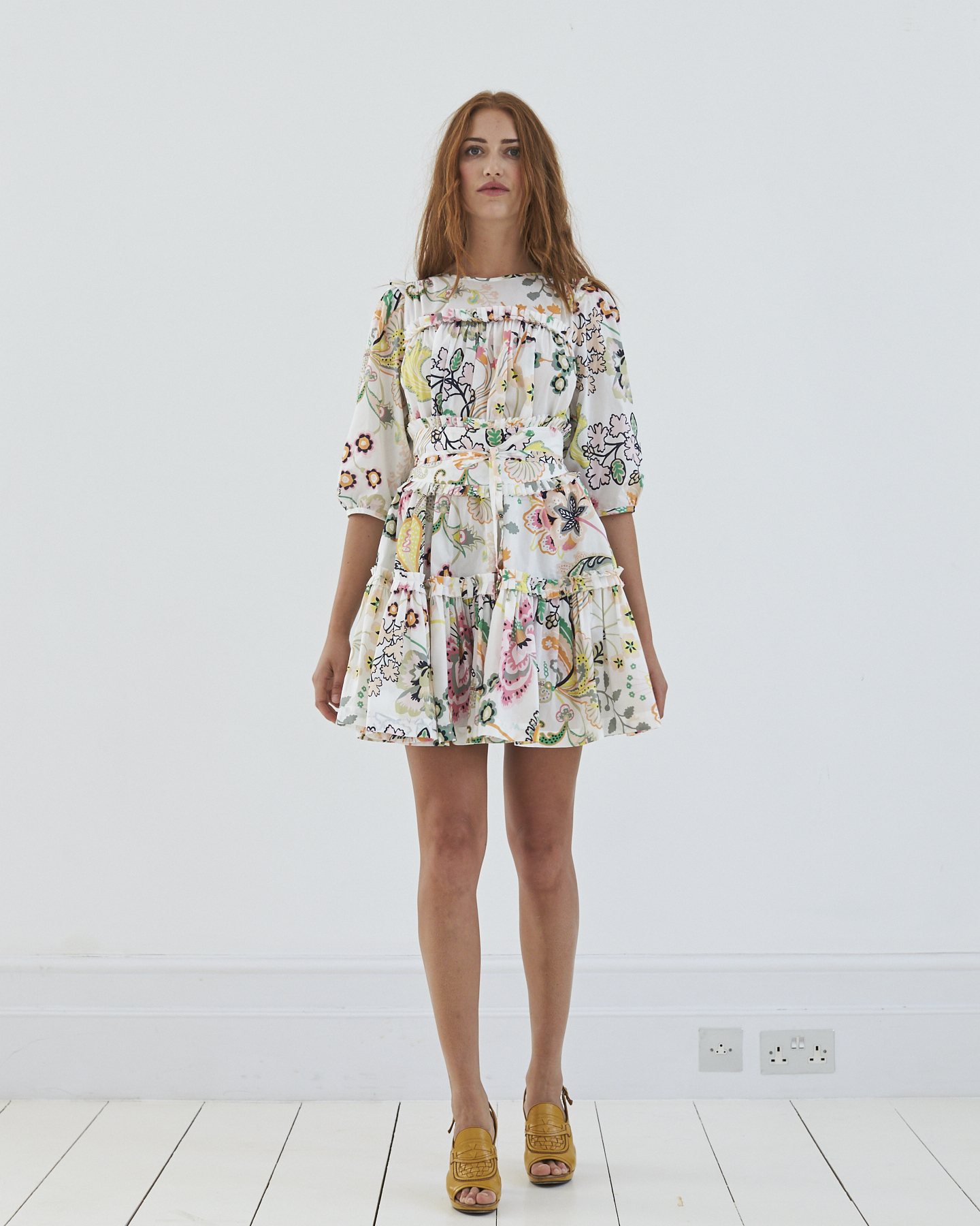 Dolly Print Mini, perfect for showing off your tiny waist and fabulous legs. Imagine in black...