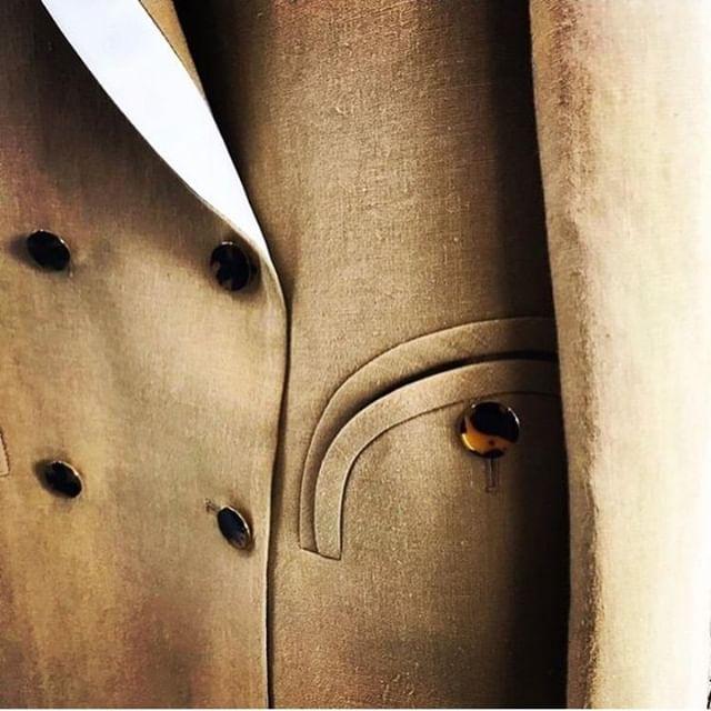 @blaze_milano details, fine pure linen, mto Rome & Milano ateliers