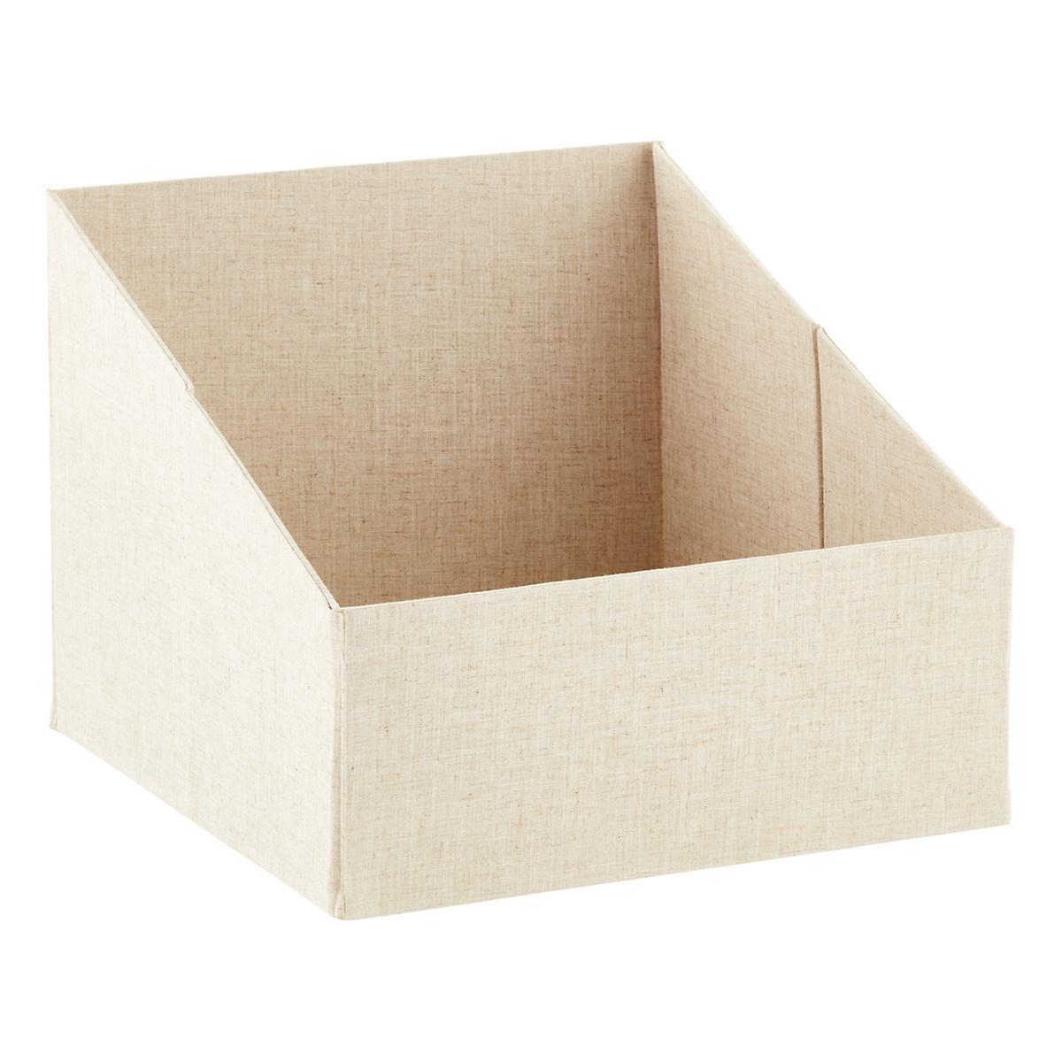 Linen Purse Storage Bin