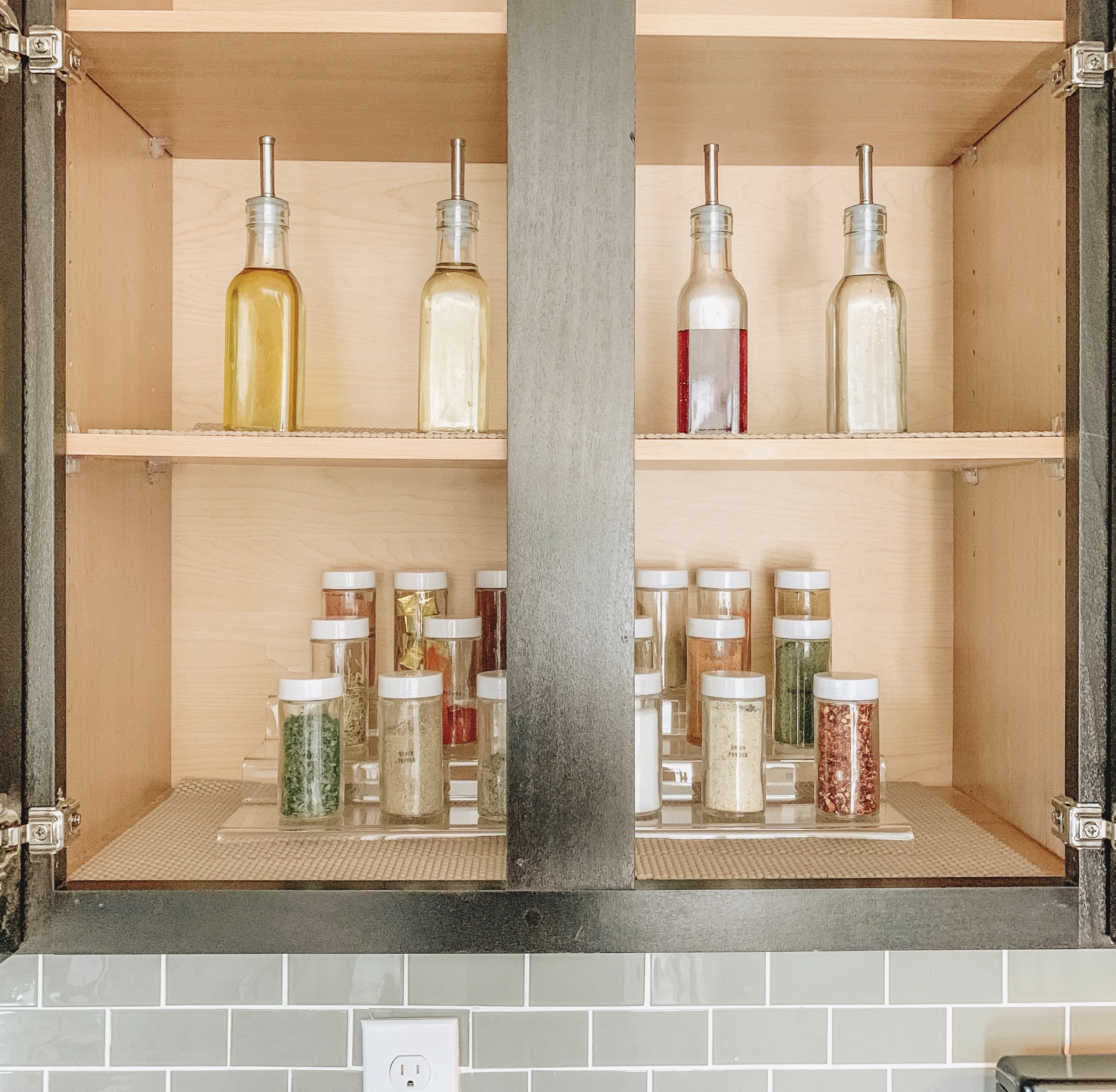 How to Organize Cabinet Space | After