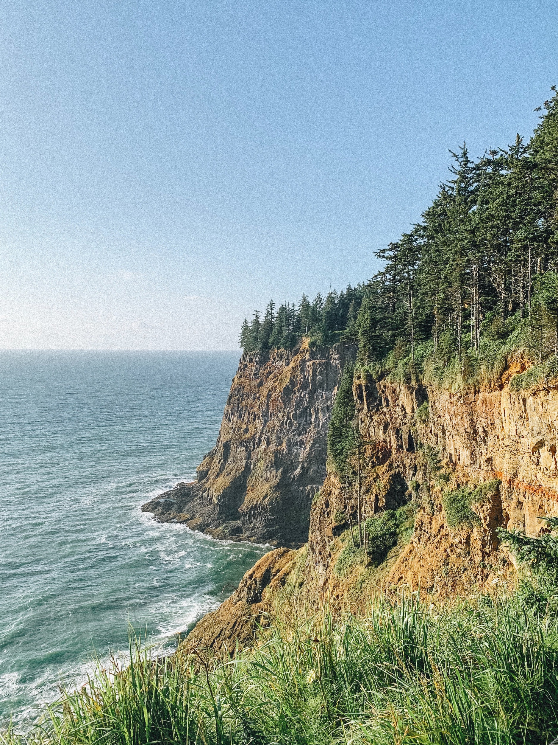 Pictured: Cape Meares