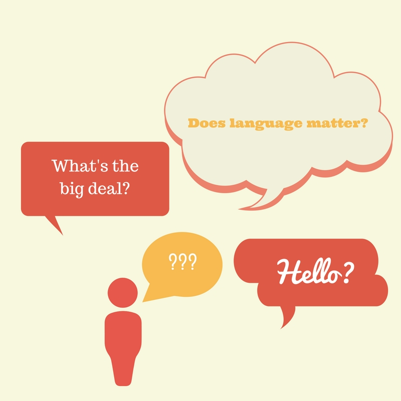 Does Language Matter