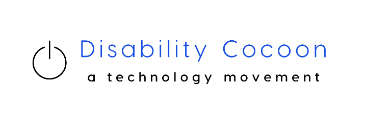 The logo for Disability Cocoon, a technology movement.