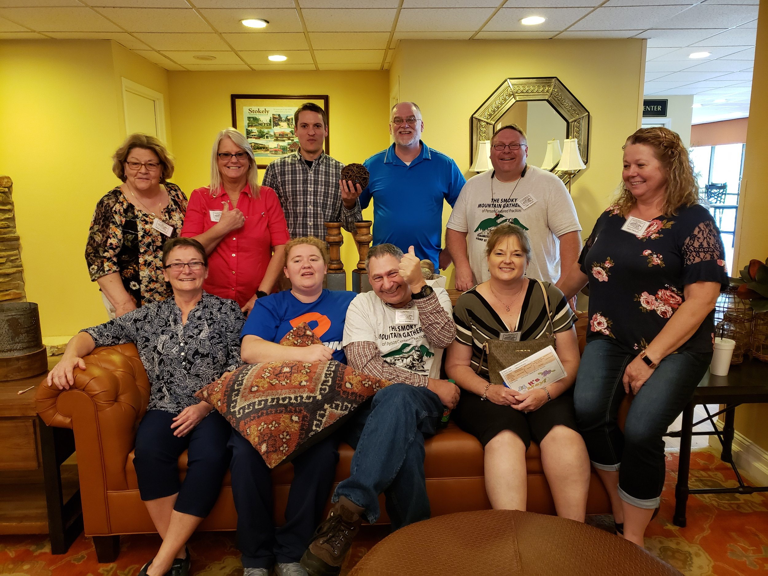 In April we got to connect with some of the team at    Core Services of Northeast Tennessee   , including Executive Director Susan Arwood (front row, left) and Tech Champion Nick Filarelli (back row, third from left). What a wonderful group of people! We look forward to seeing them at future    TN DIDD    events.
