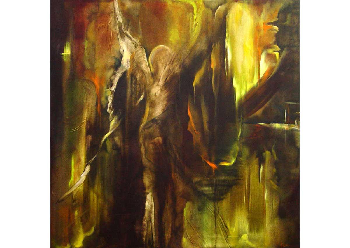 Ecos del alma. Óleo sobre tela | 2004 | 68 x 67 cm.