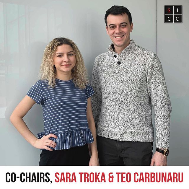 Welcome to the 30th annual Scotiabank International Case Competition! We are very excited to host 13 teams from around the world at Ivey and learn more about their diverse cultures and perspectives.  We would like to introduce you to the 2019 Co-Chairs, Sara and Teo. Sara is a fourth year Ivey student, interested in fashion and finance! Teo is also a fourth year Ivey student, interested in soccer, food and traveling!  To the participants, we hope you have as much fun competing as we did planning #SICC2019 !!! Meet the rest of the team: https://bit.ly/2HkcIaT