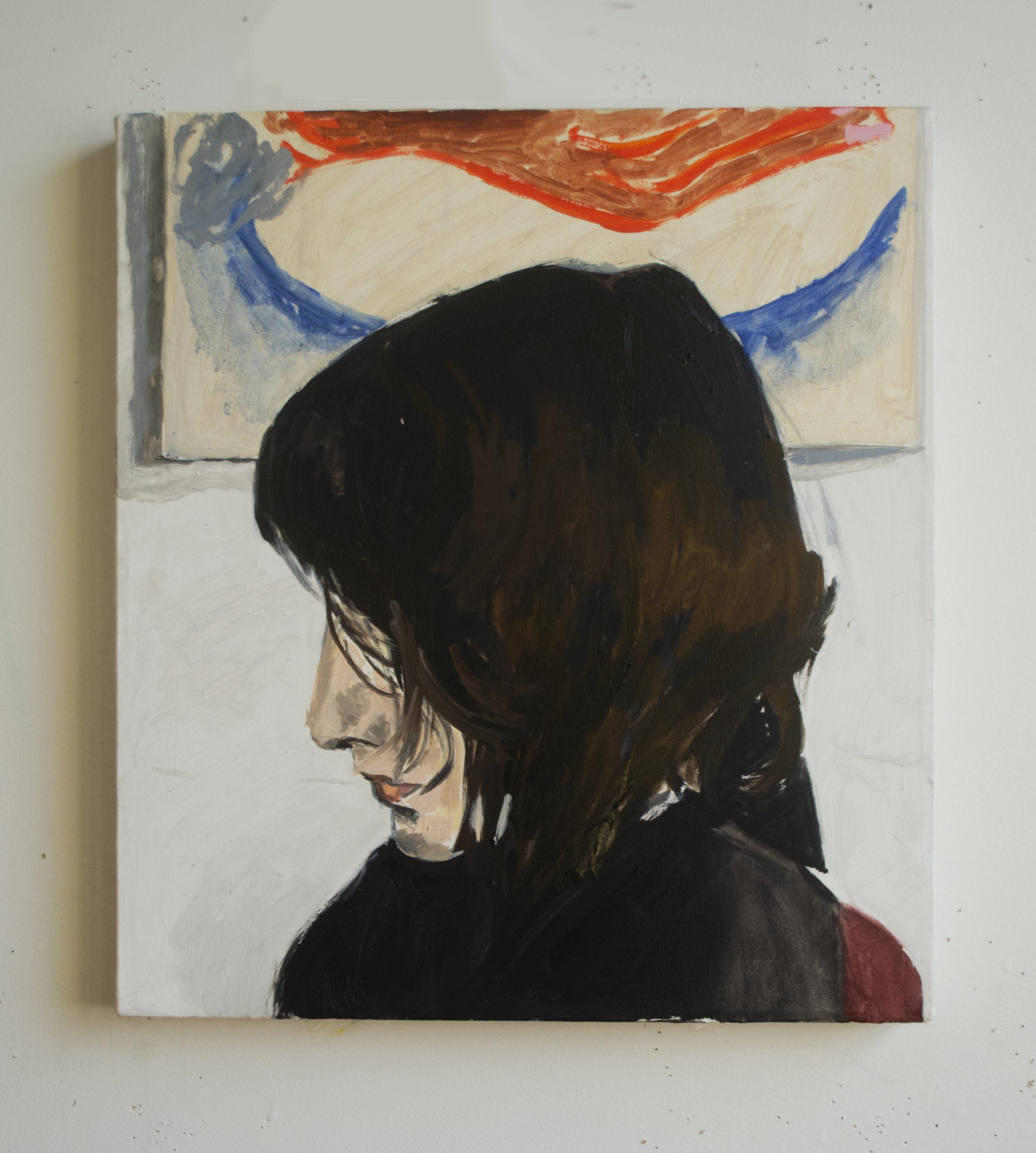 Rachel   oil on canvas  2016