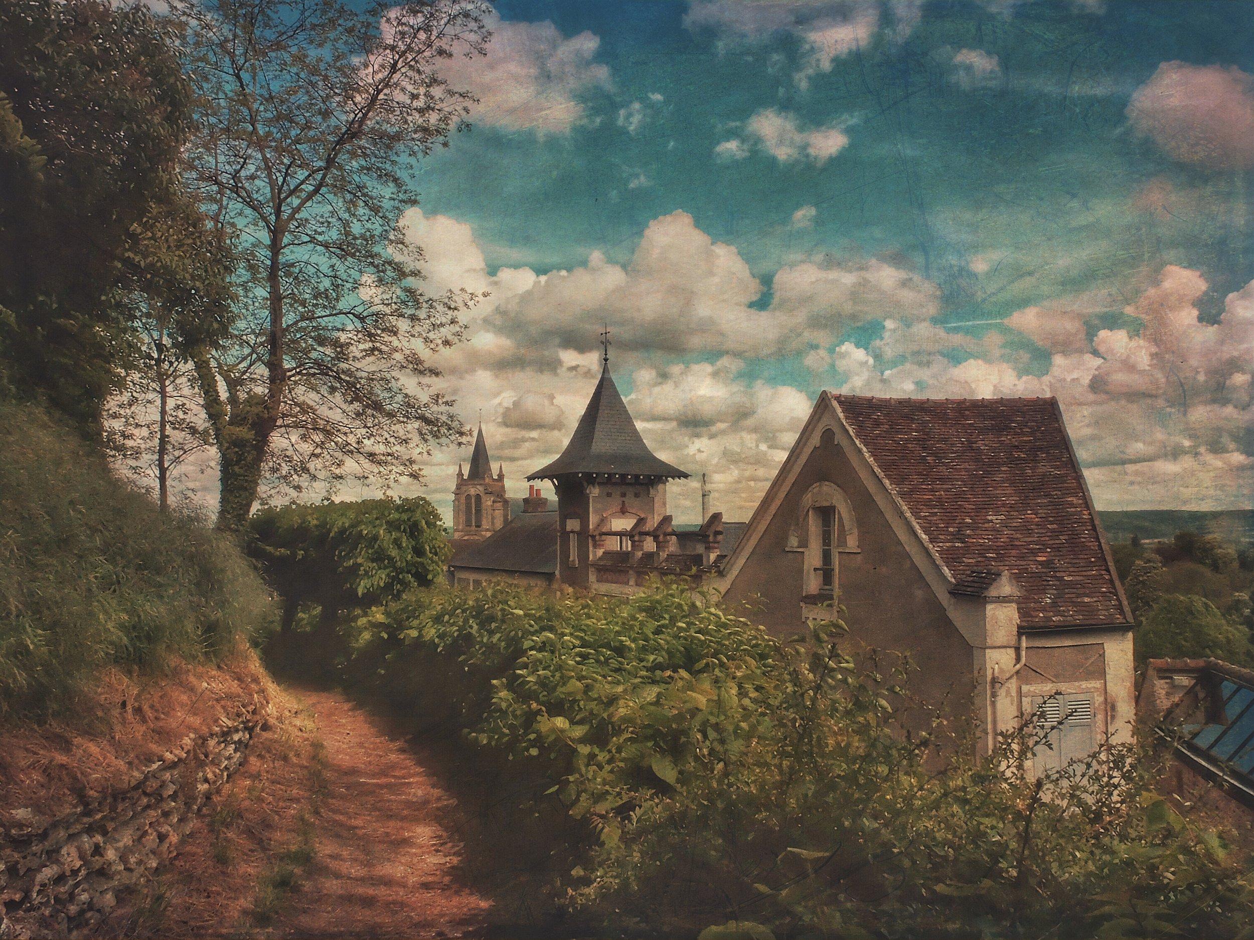 "Maurice Ravel home - (Copy sold at ""L'Atelier Gallery"" - Montfort l'Amayry - France)"