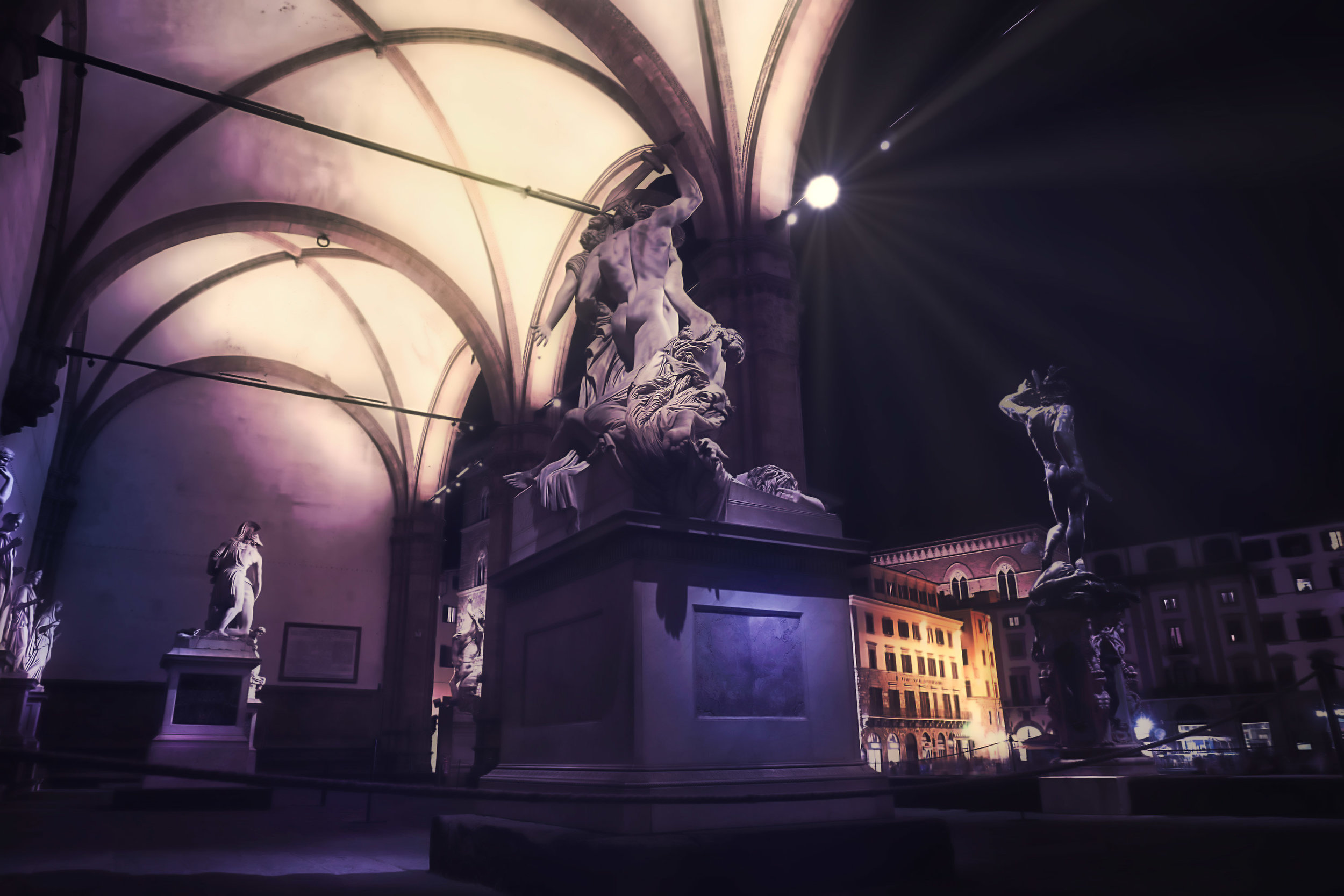 """LOGGIA DEI LANZI""  ALL IMAGES ARE © ANDREA BIGIARINI - All rights reserved"