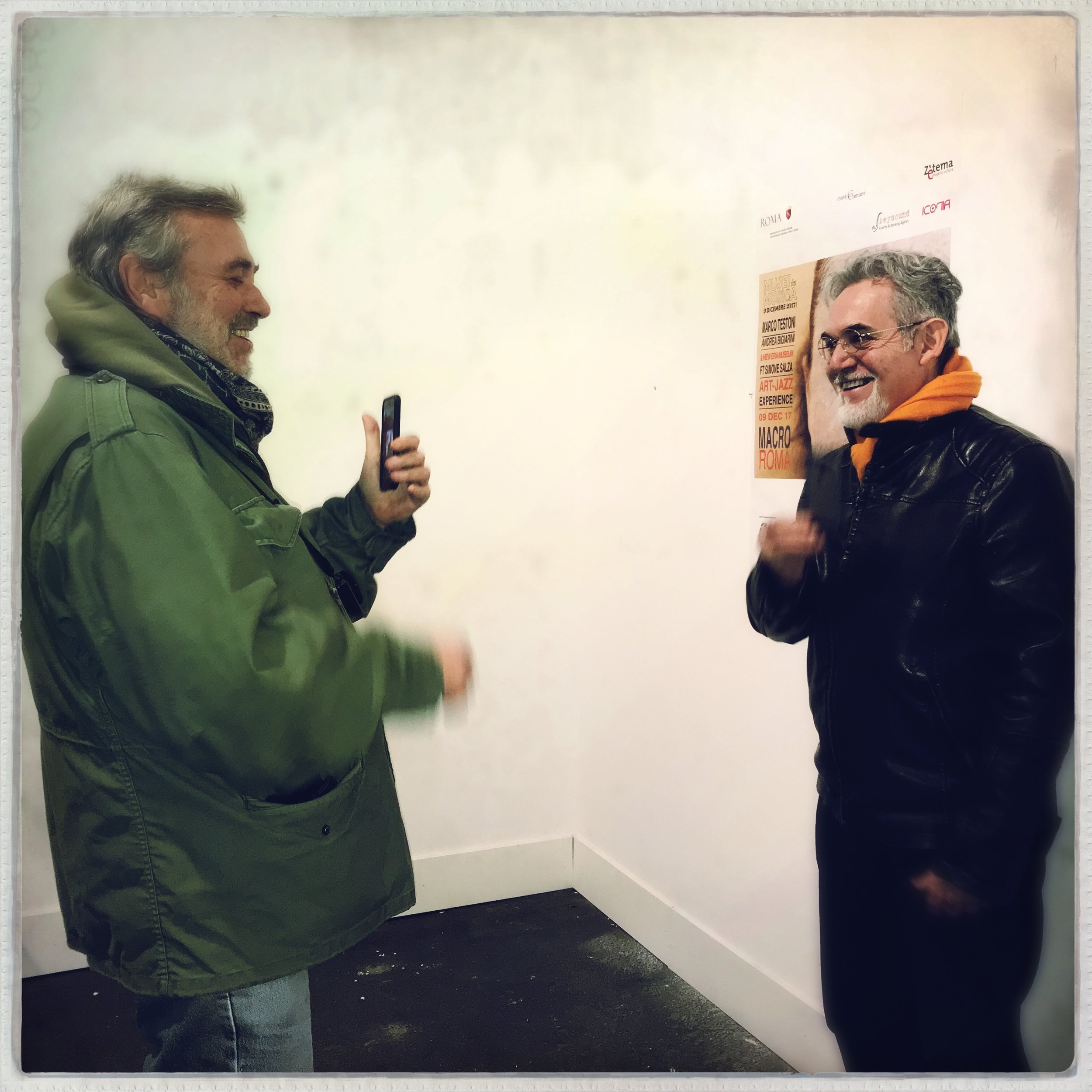Andrea Bigiarini (Left) and Marco Testoni (right)  - Photo by Giuseppe Iannicelli.