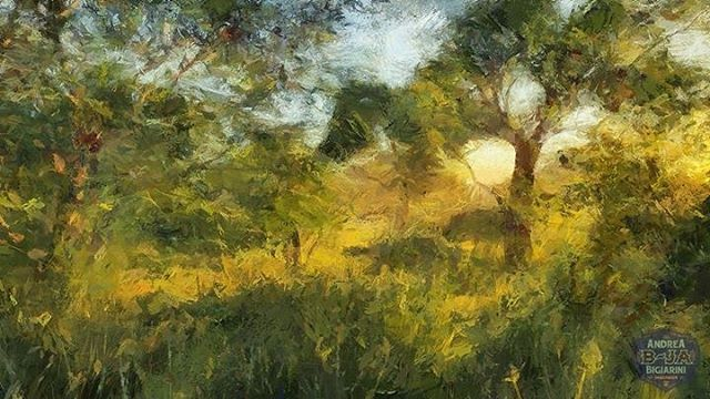 #painterly #digitalart #landscapes