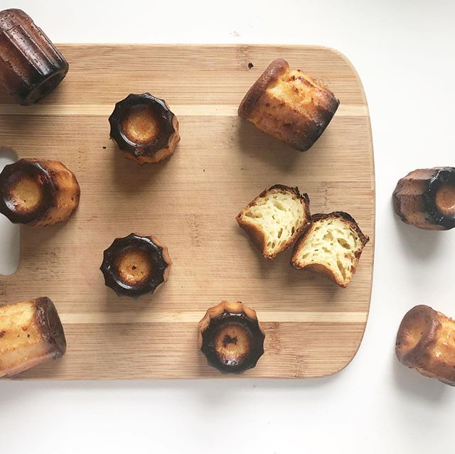 As of late I've been fascinated with traditional French pastry dessert. Could be that my family did a 23&me and now we know we have French roots and not Italian? Or it could be I just love sweets that are not so sweet! #canele