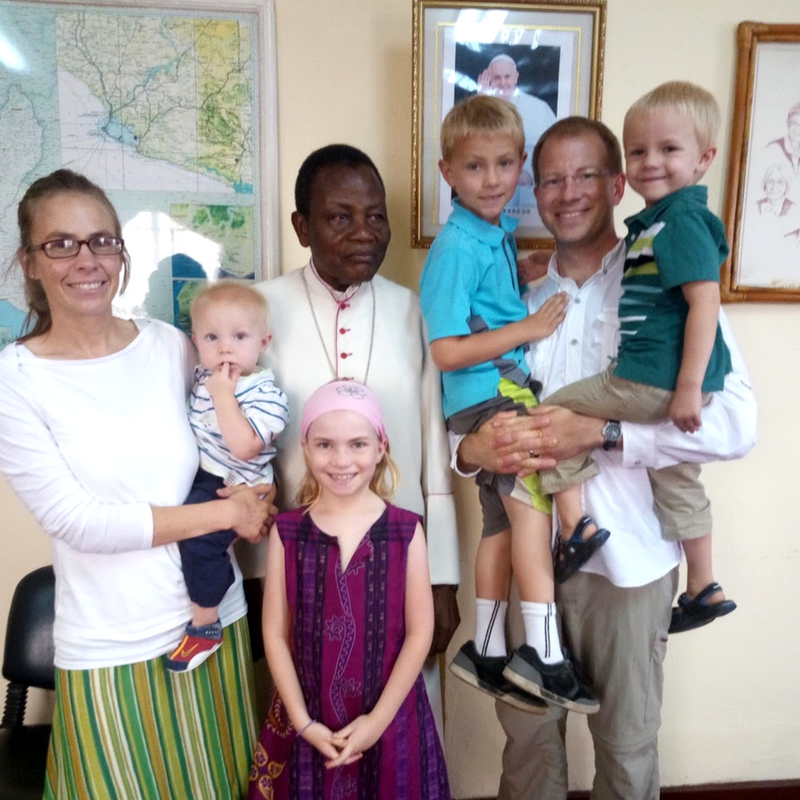 The Caudles are serving in Liberia for two years.