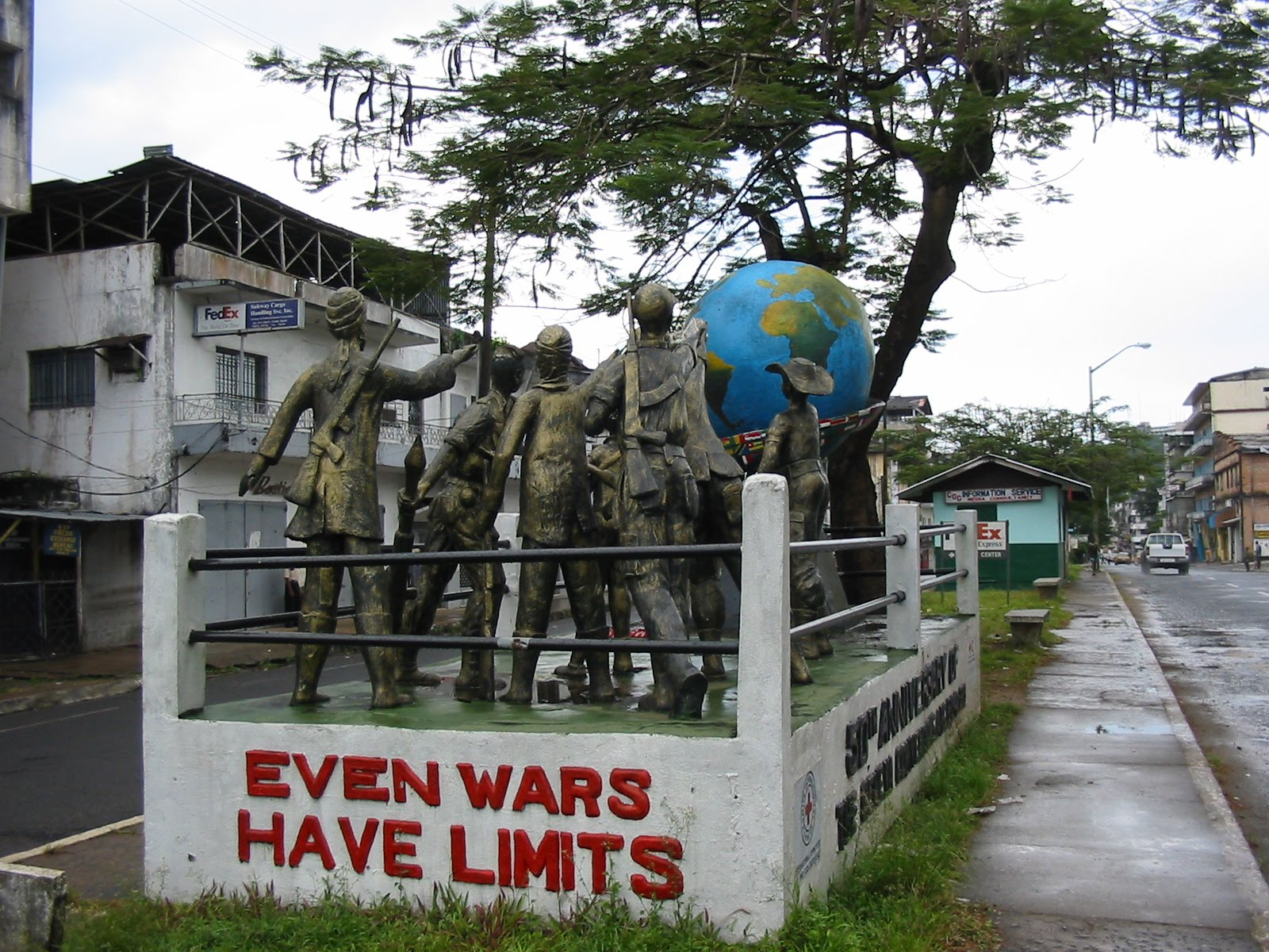 Liberia Mission was founded right after Liberia's long civil war, which ended in 2003.