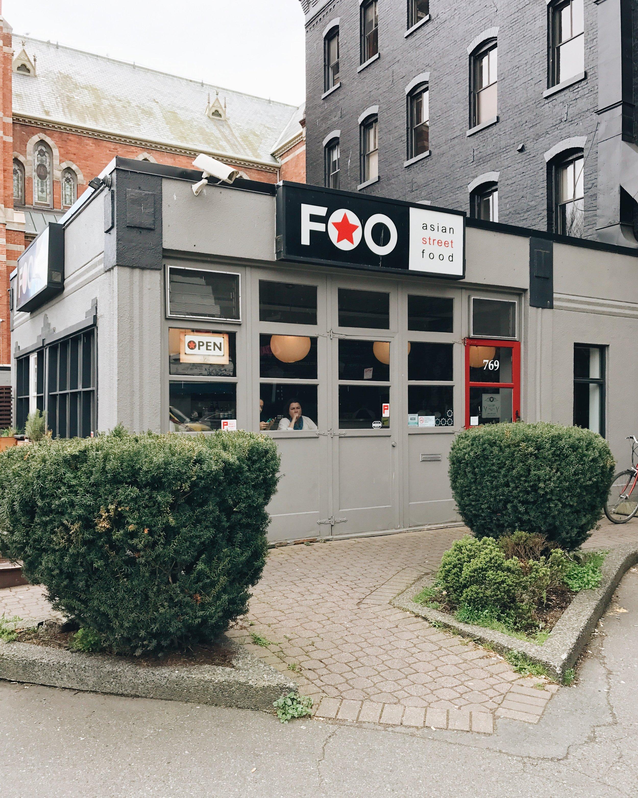 FOO Asian Street Food, Victoria BC, Nyla Free Designs Inc