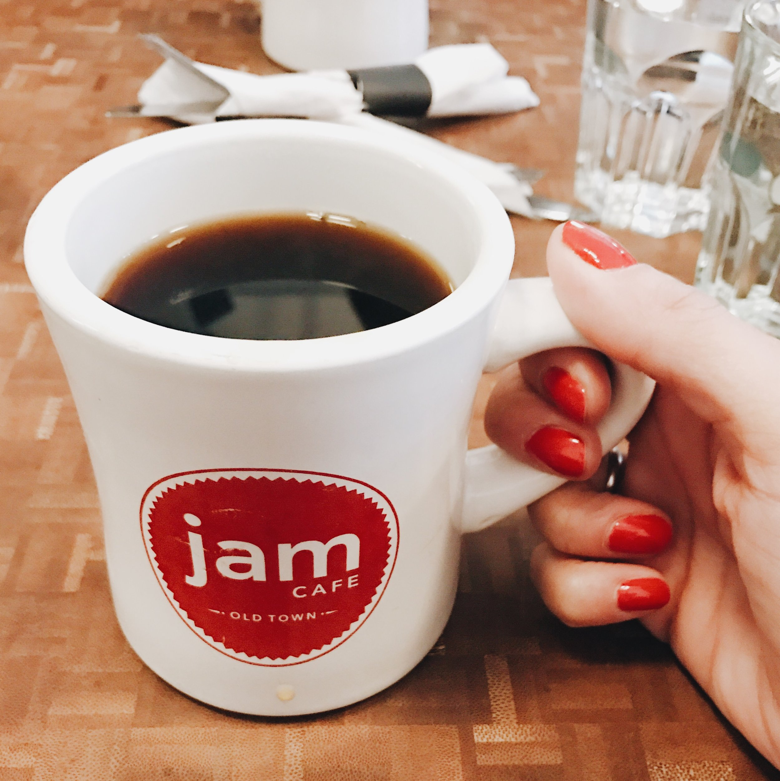 JAM Old Town Cafe, Victoria BC, Nyla Free Designs Inc