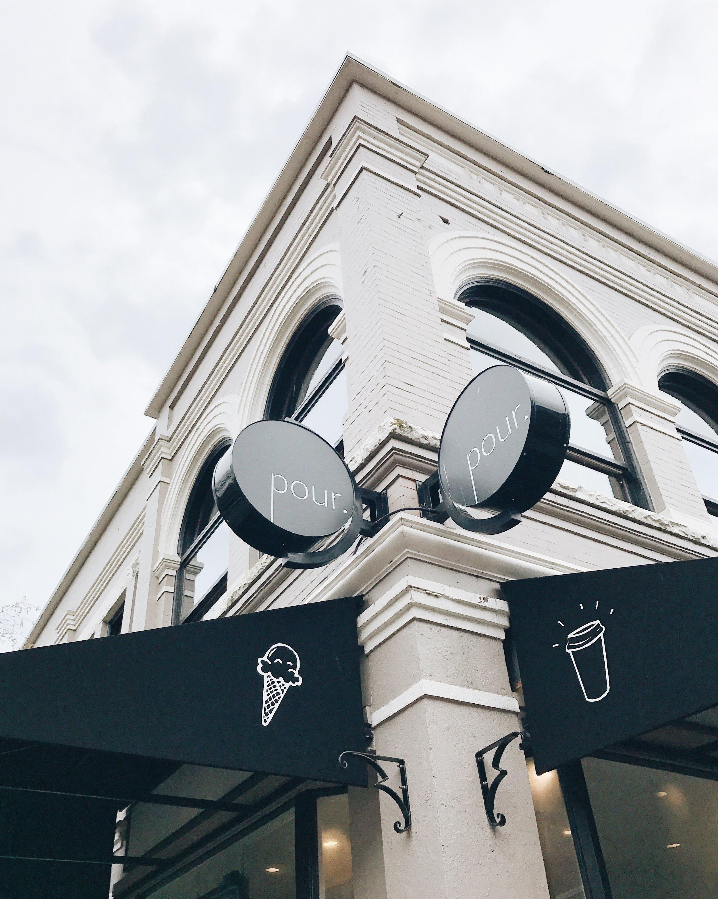 Pour Coffee, Victoria BC, Nyla Free Designs Inc