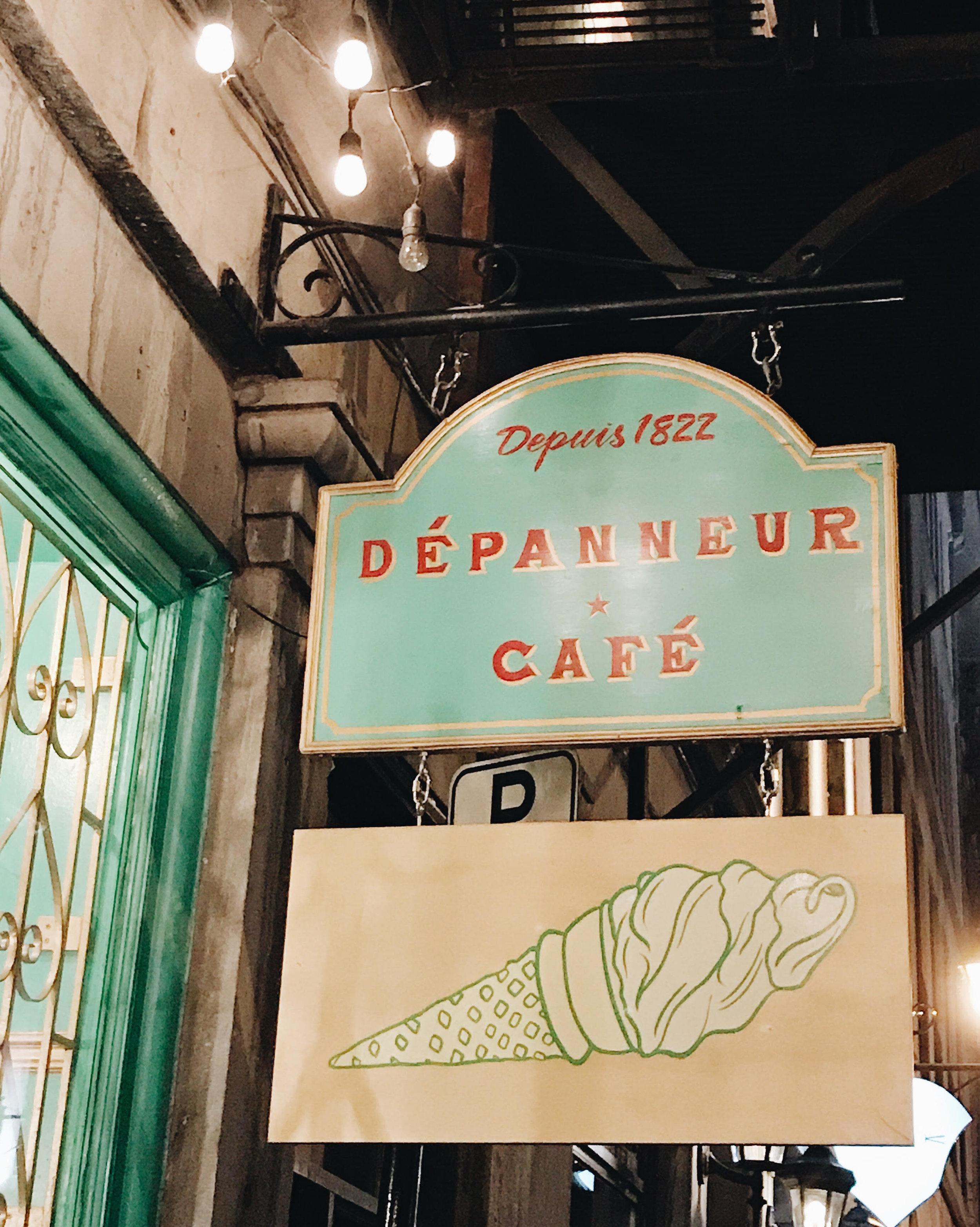 Le Petit Dep, Ice Cream, Montreal, Nyla Free Designs