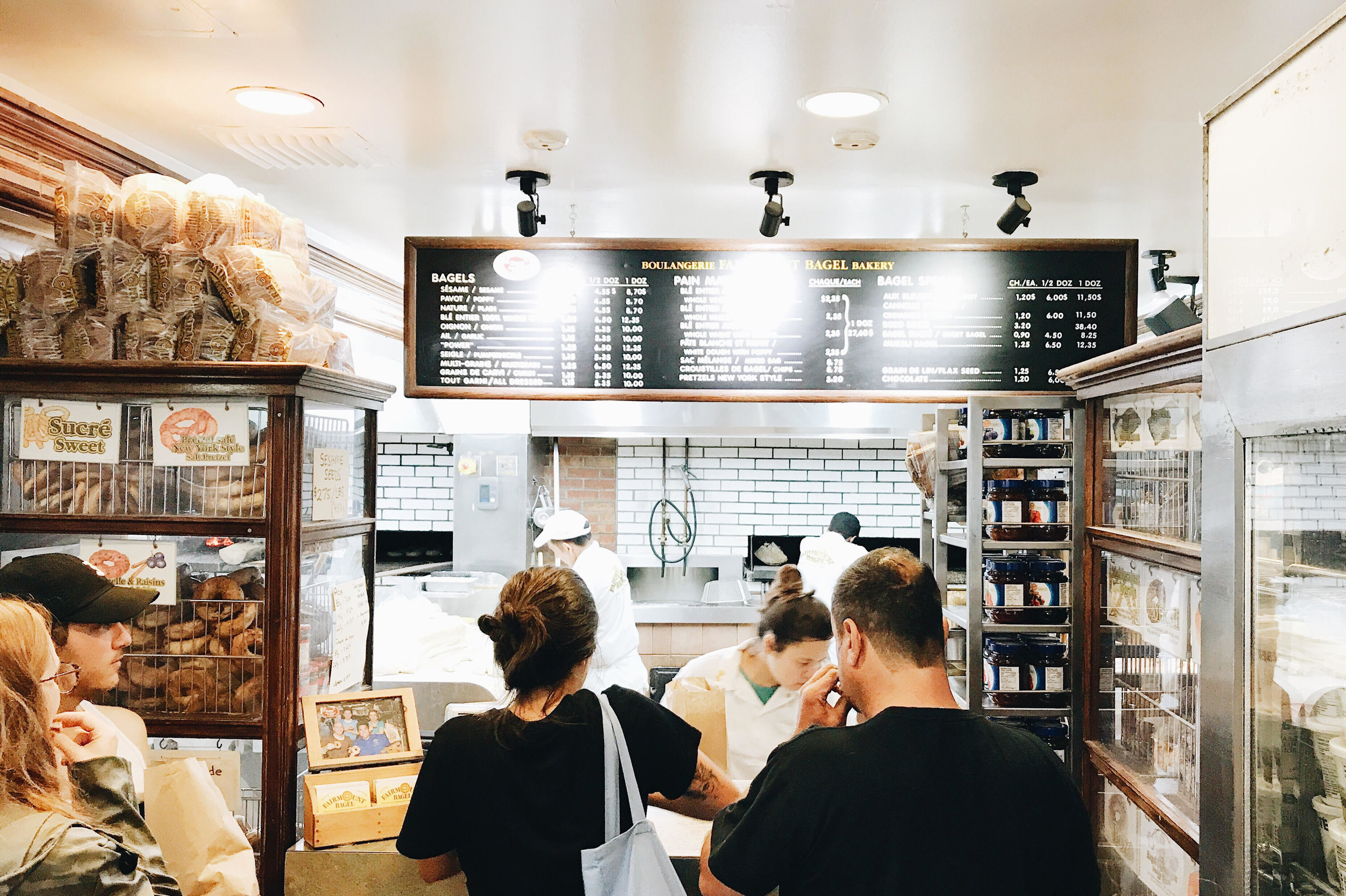 Fairmont Bagel, Nyla Free Designs Travels Montreal, Weekend Guide, Travel Tips, Canada, Calgary Interior Designer