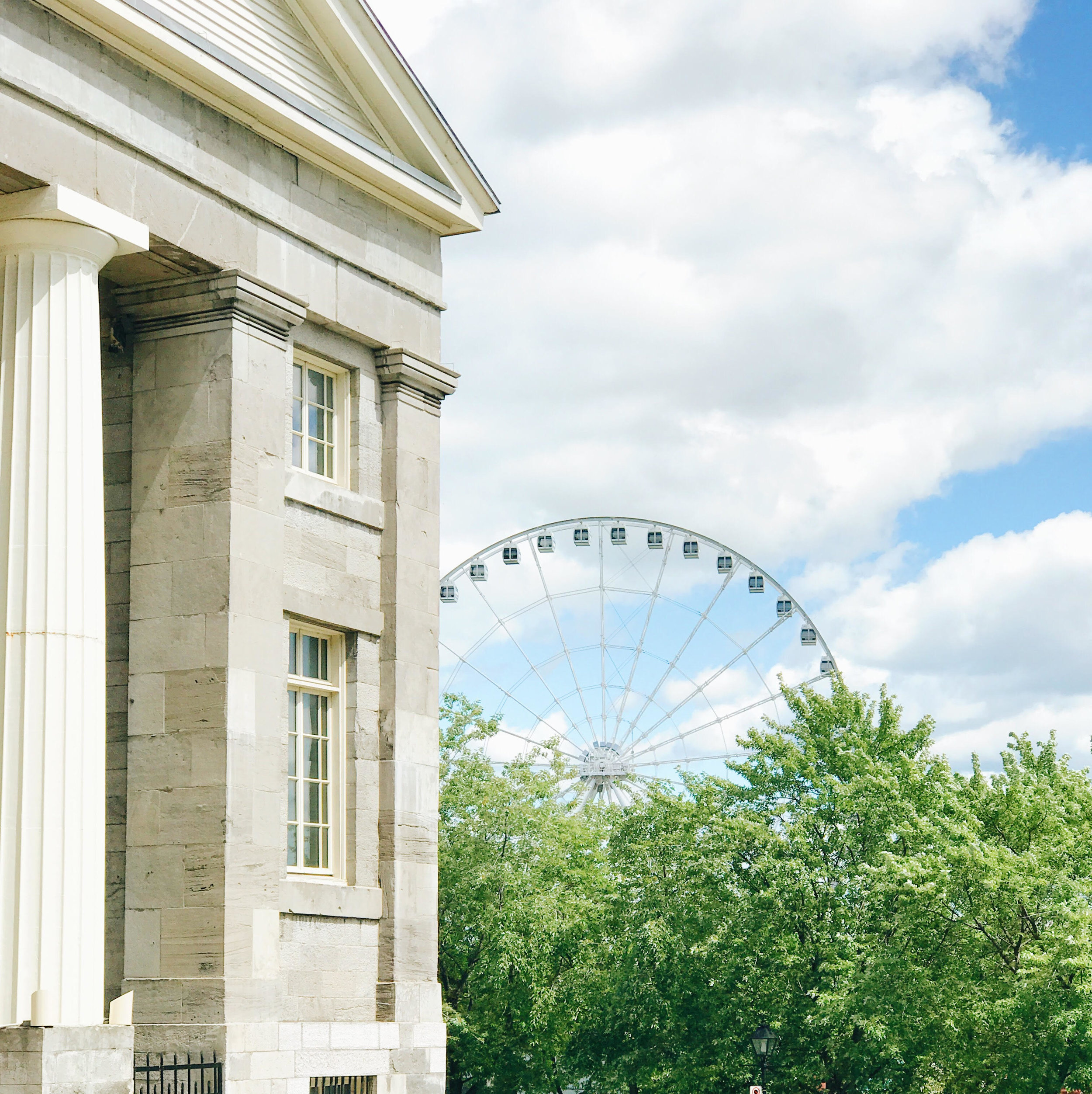 Observation Wheel, Nyla Free Designs Travels Montreal, Weekend Guide, Travel Tips, Canada, Calgary Interior Designer