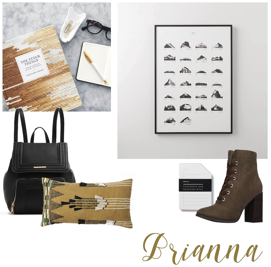 Brianna's Fall Favourites