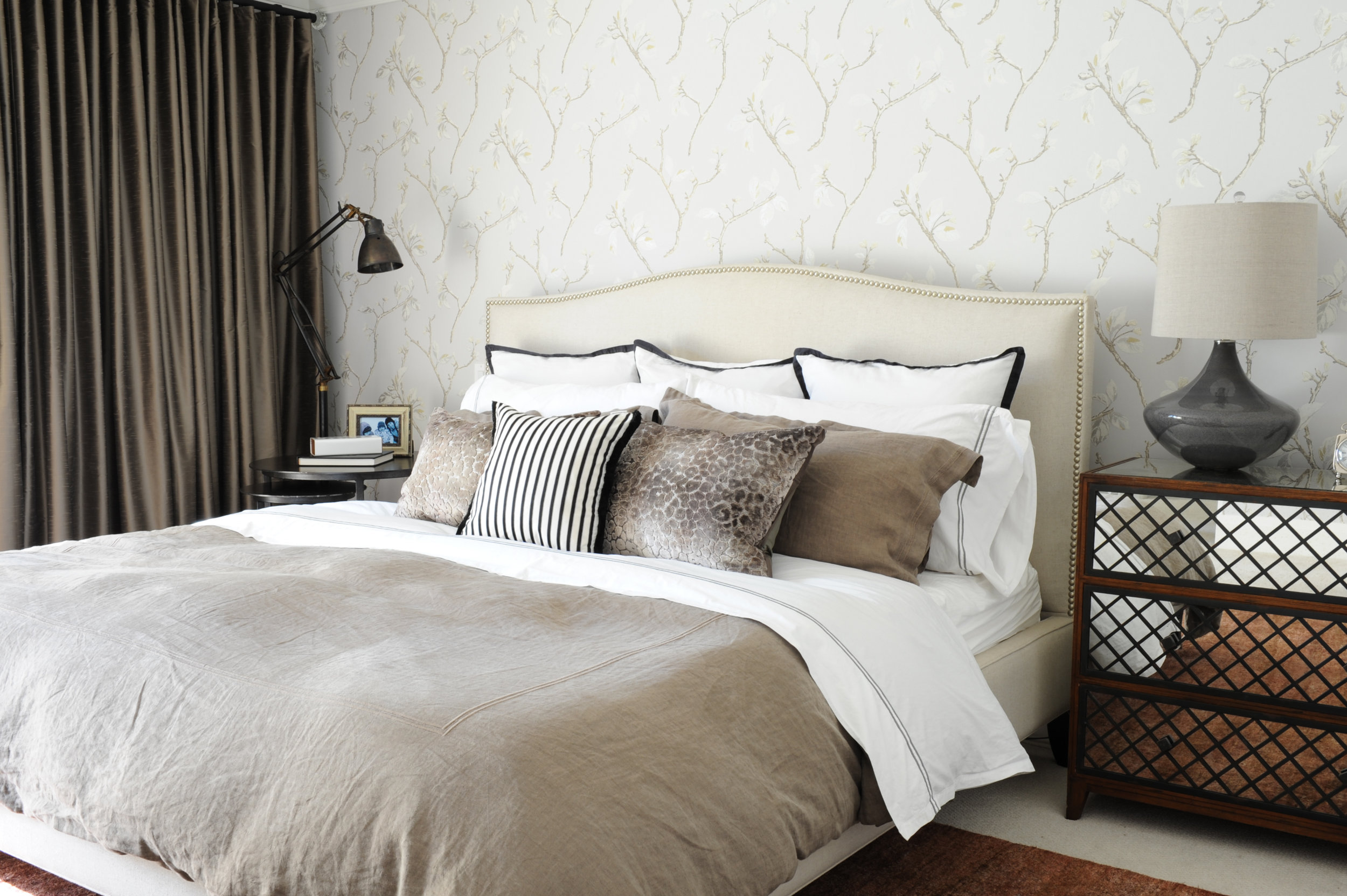 3 tips for investing in timeless furniture. West Vancouver Master Bedroom, Interior Design by Nyla Free Designs Inc., Calgary Canada