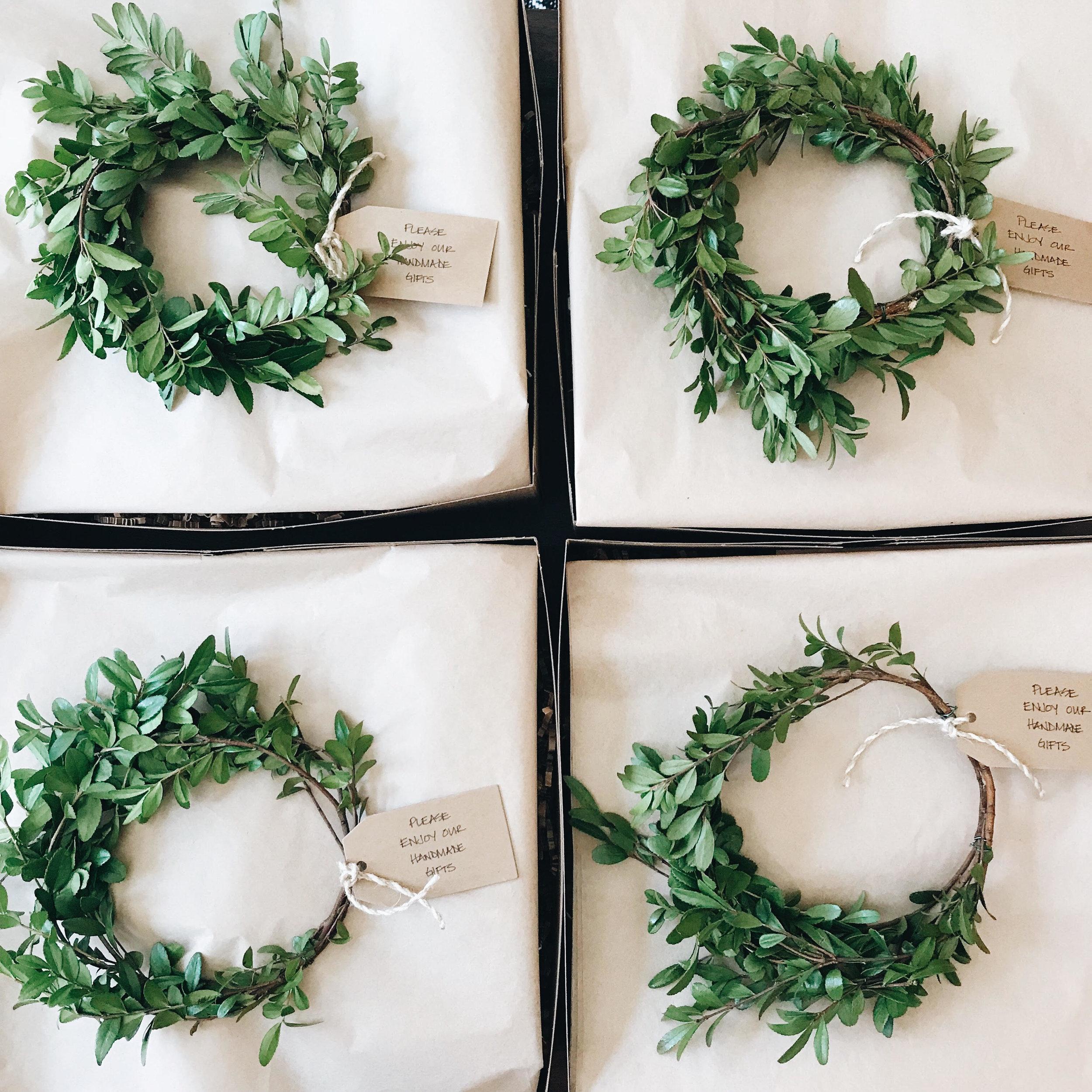 Christmas Greens, Wreaths, Nyla Free Designs Inc., Calgary Interior Designer