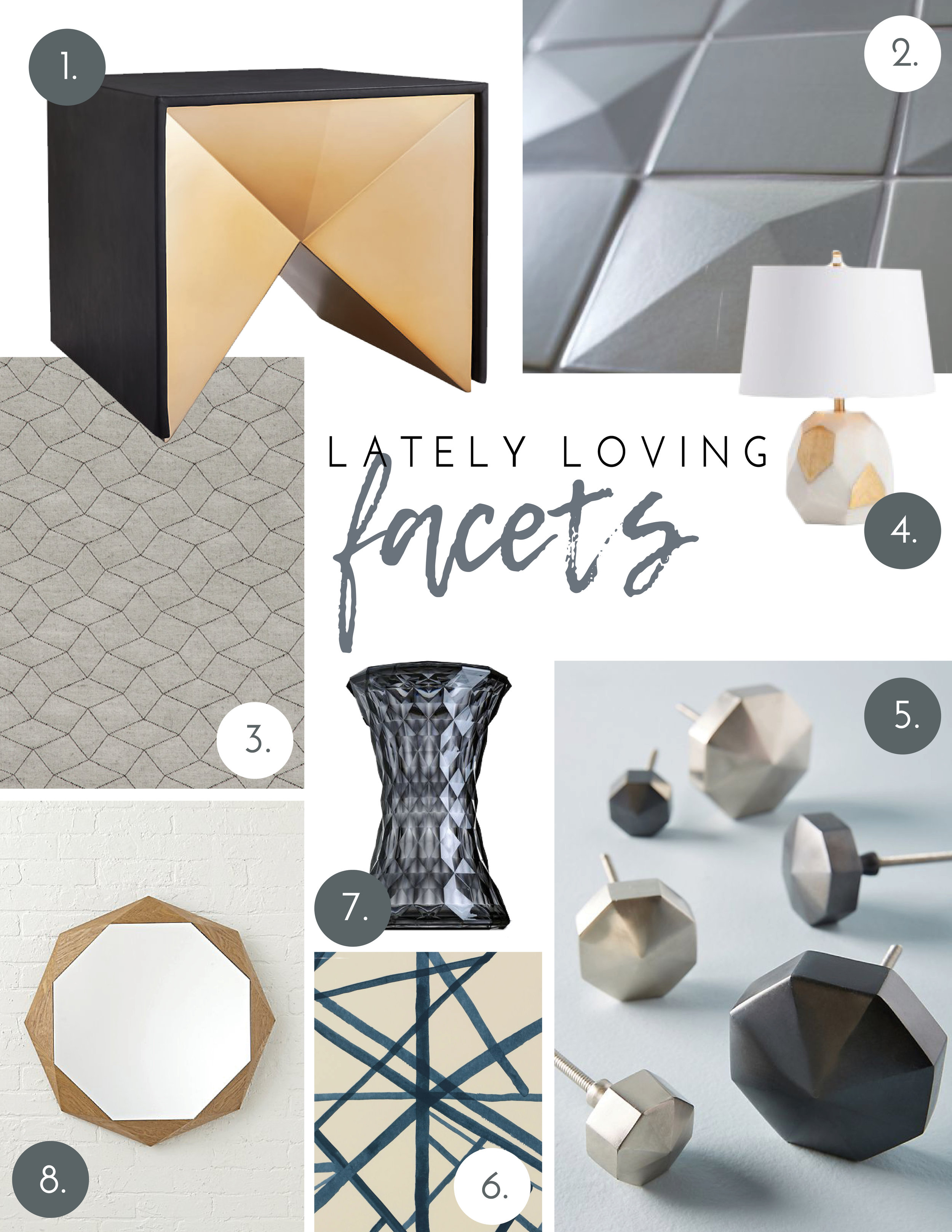 Nyla Free Designs, Calgary Interior Designer, Calgary Interior Design, Facets, Lately Loving, Blog