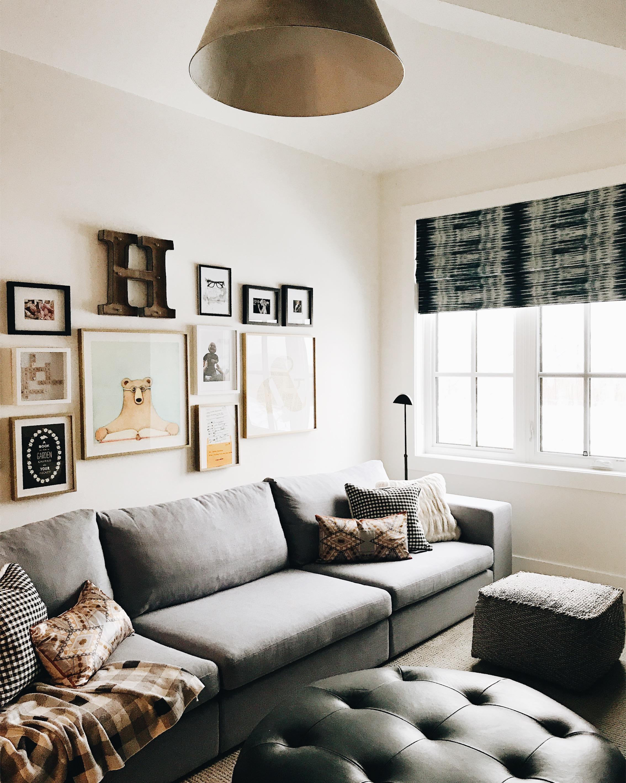 Family Reading Room, Nyla Free Designs, Calgary Interior Designer, Veranda Estate Homes