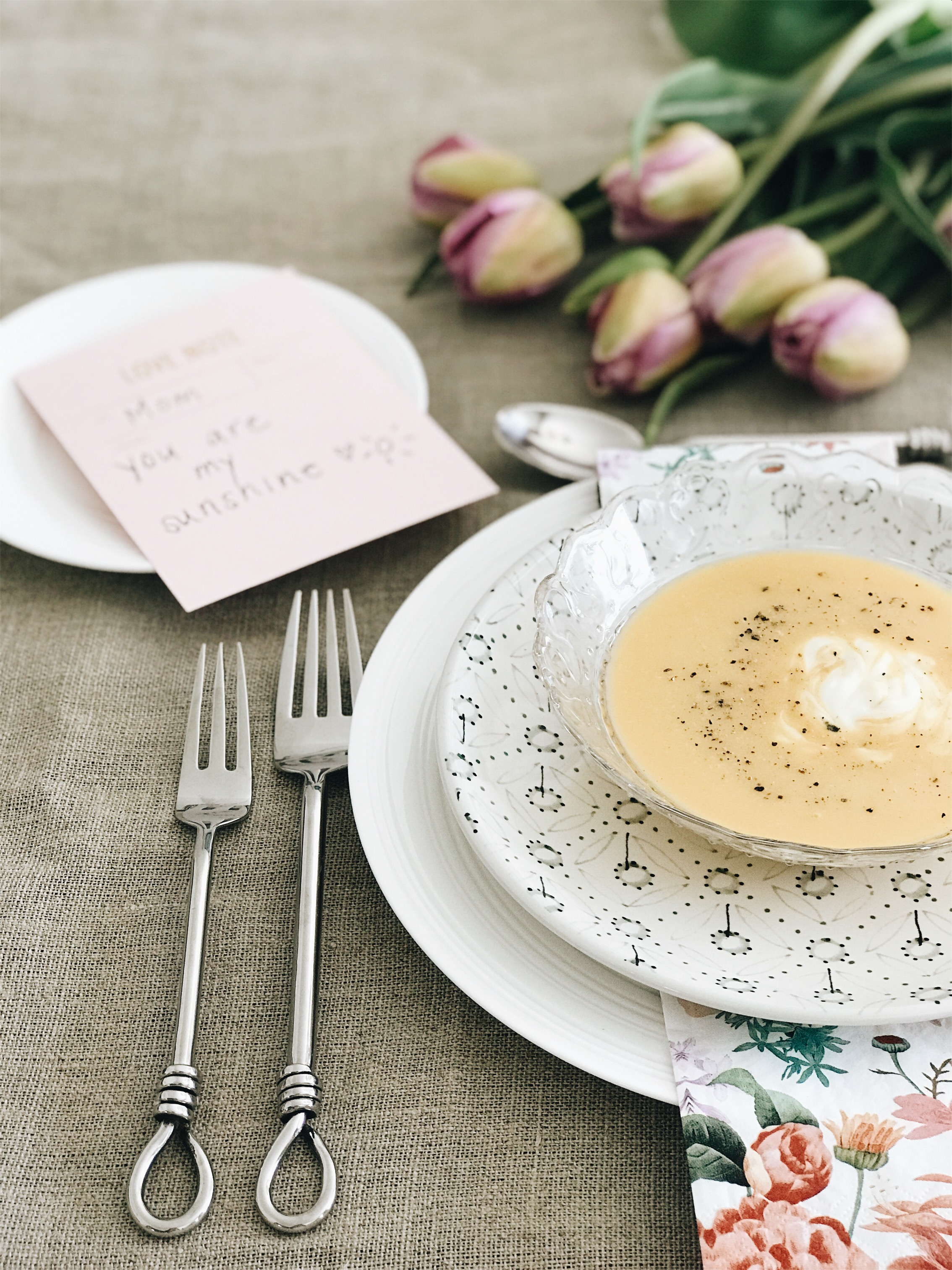 3 Ways to Spoil Your Mom At Home On Mother's Day, Brunch, Nyla Free Designs Inc., Calgary Interior Designer