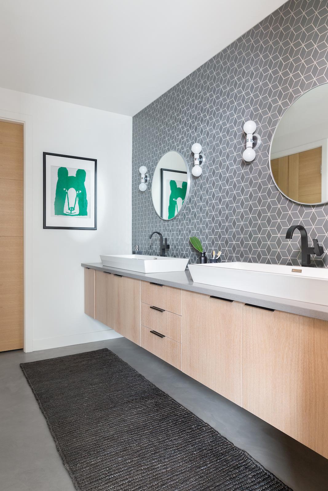 Nyla Free Designs Inc Project Reveal Modern Boys Bathroom