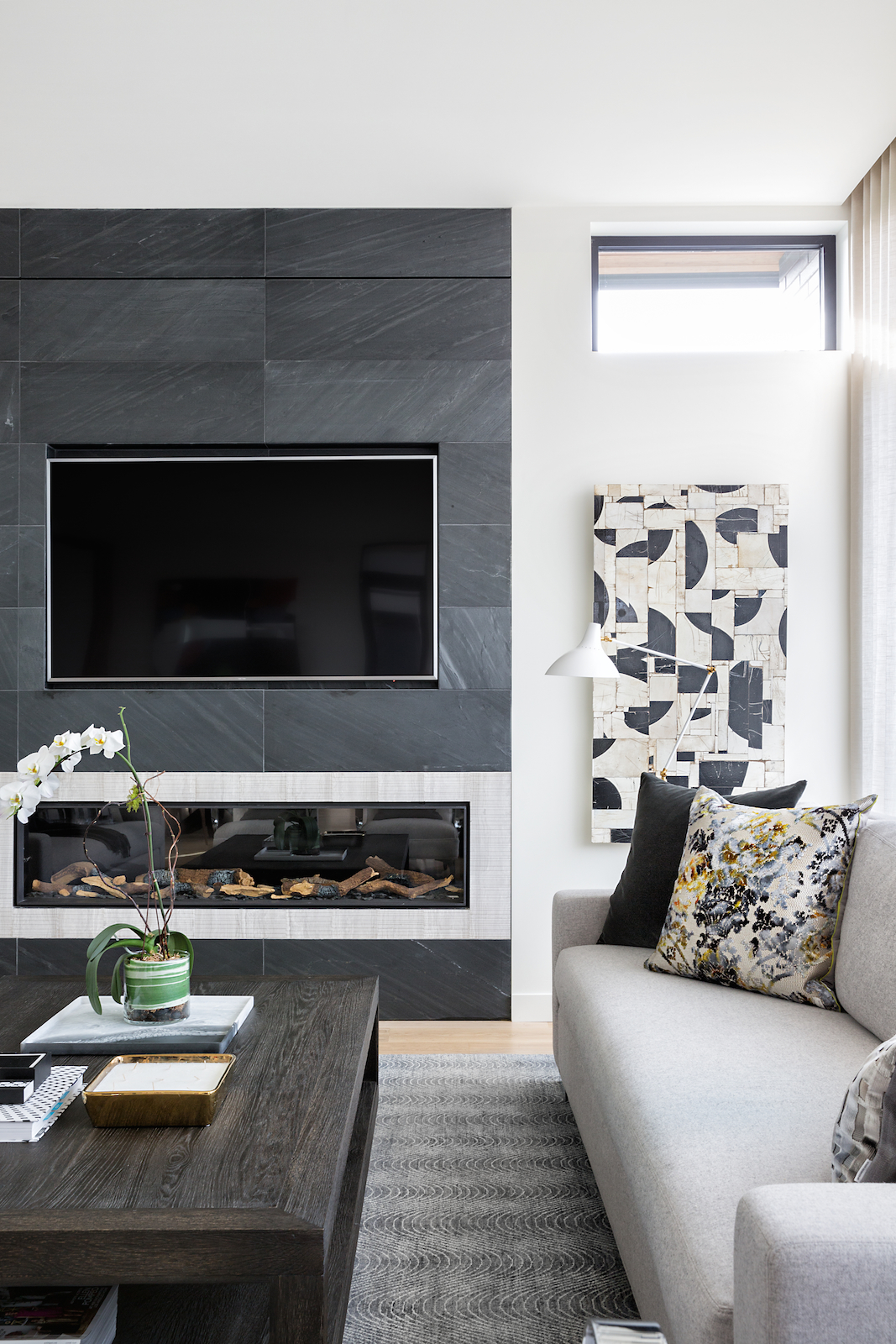 Casual Sophistication, Living Room, Elbow Park Modern, Calgary Interior Designer, Nyla Free Designs, DeJong Design Associates, Insignia Custom Homes, Phil Crozier Photography