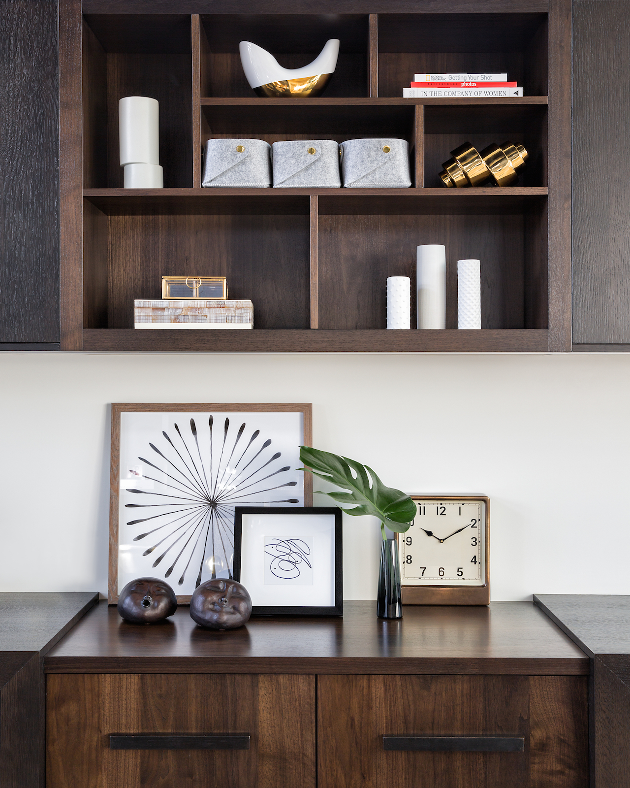 Home Office, Study, Elbow Park Modern, Calgary Interior Designer, Nyla Free Designs