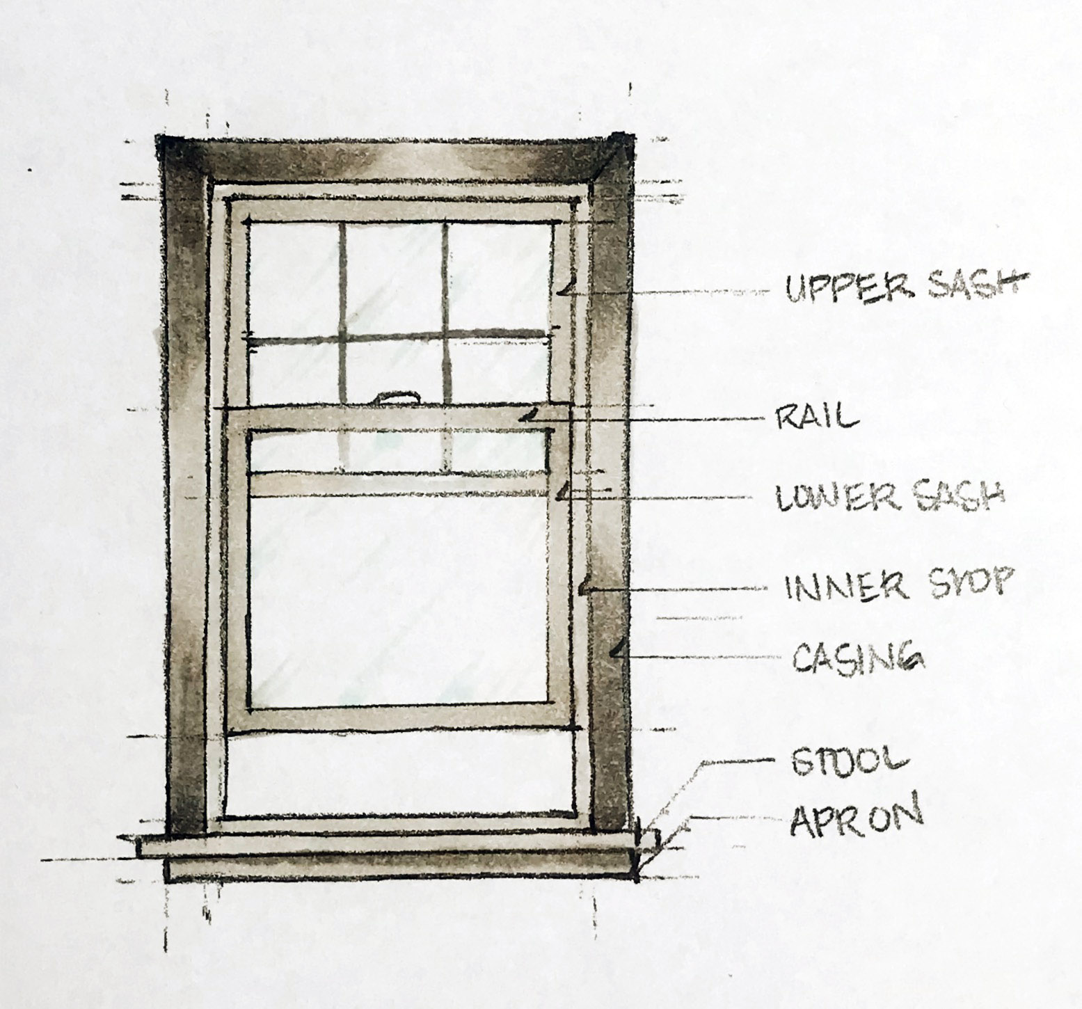 Anatomy of a Single/Double Hung Window, Nyla Free Designs Calgary Interior Designer