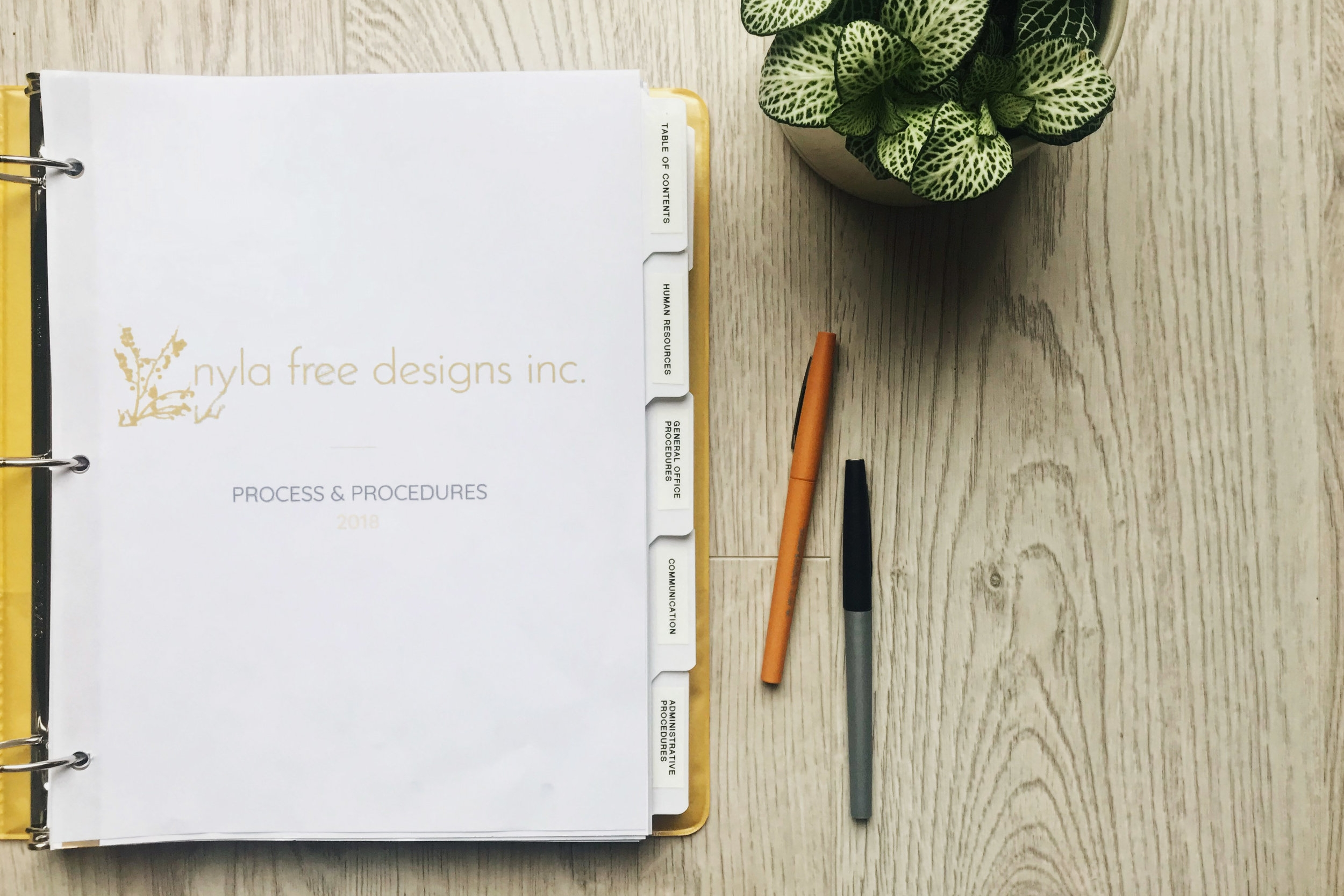 Nyla Free Designs, About Page
