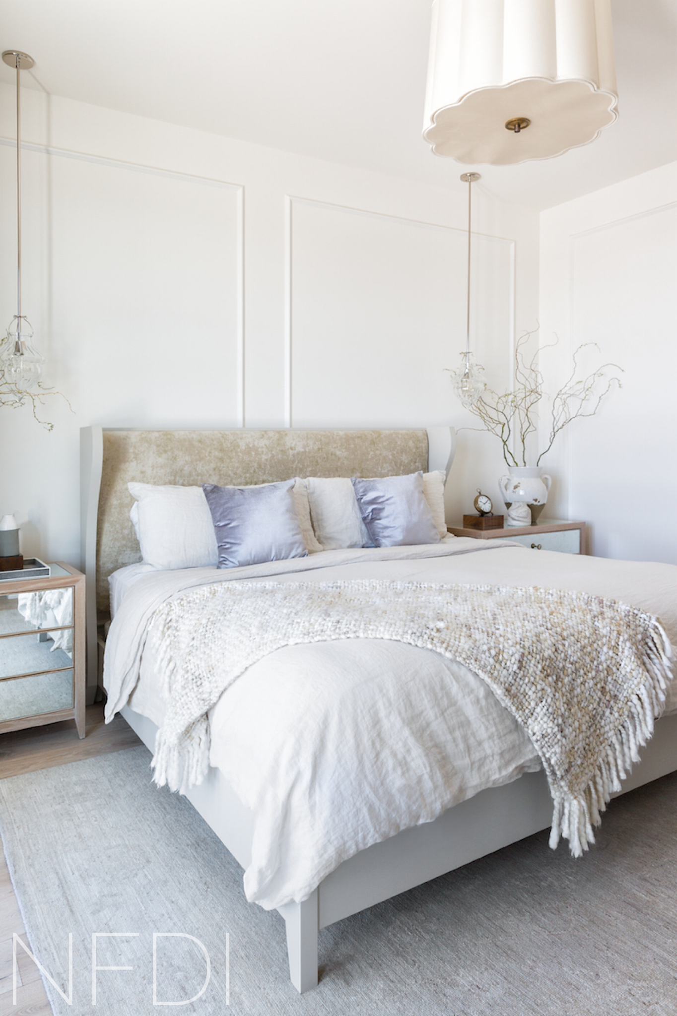 Rural Alberta Country House, Master Bedroom, Interior Design by Nyla Free Designs Inc., Calgary Interior Designer, Architecture by DeJong Design Associates, Photography: Phil Crozier