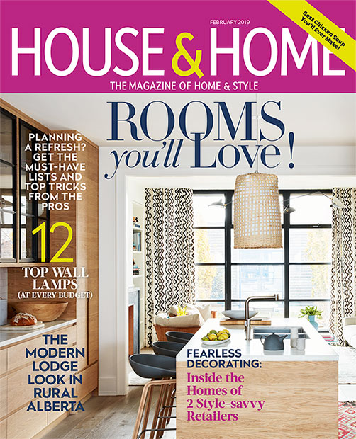 Nyla Free Designs, calgary interior designer, house and home magazine