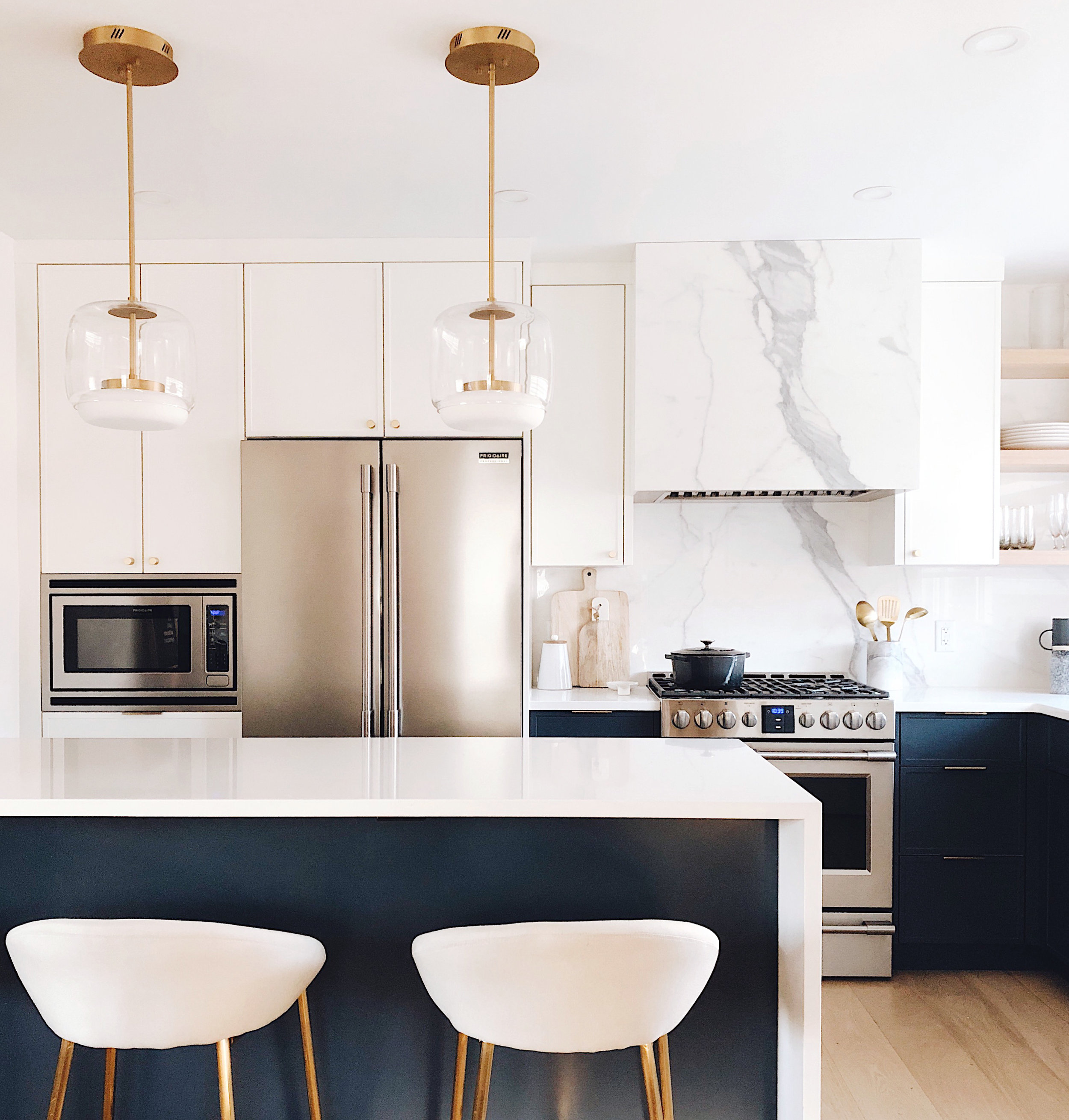 Before and After, Calgary Interior Designer, Nyla Free Designs, Marvel Cabinetry, Timberwolf Construction, Collaboration with HGTV's Property Brothers