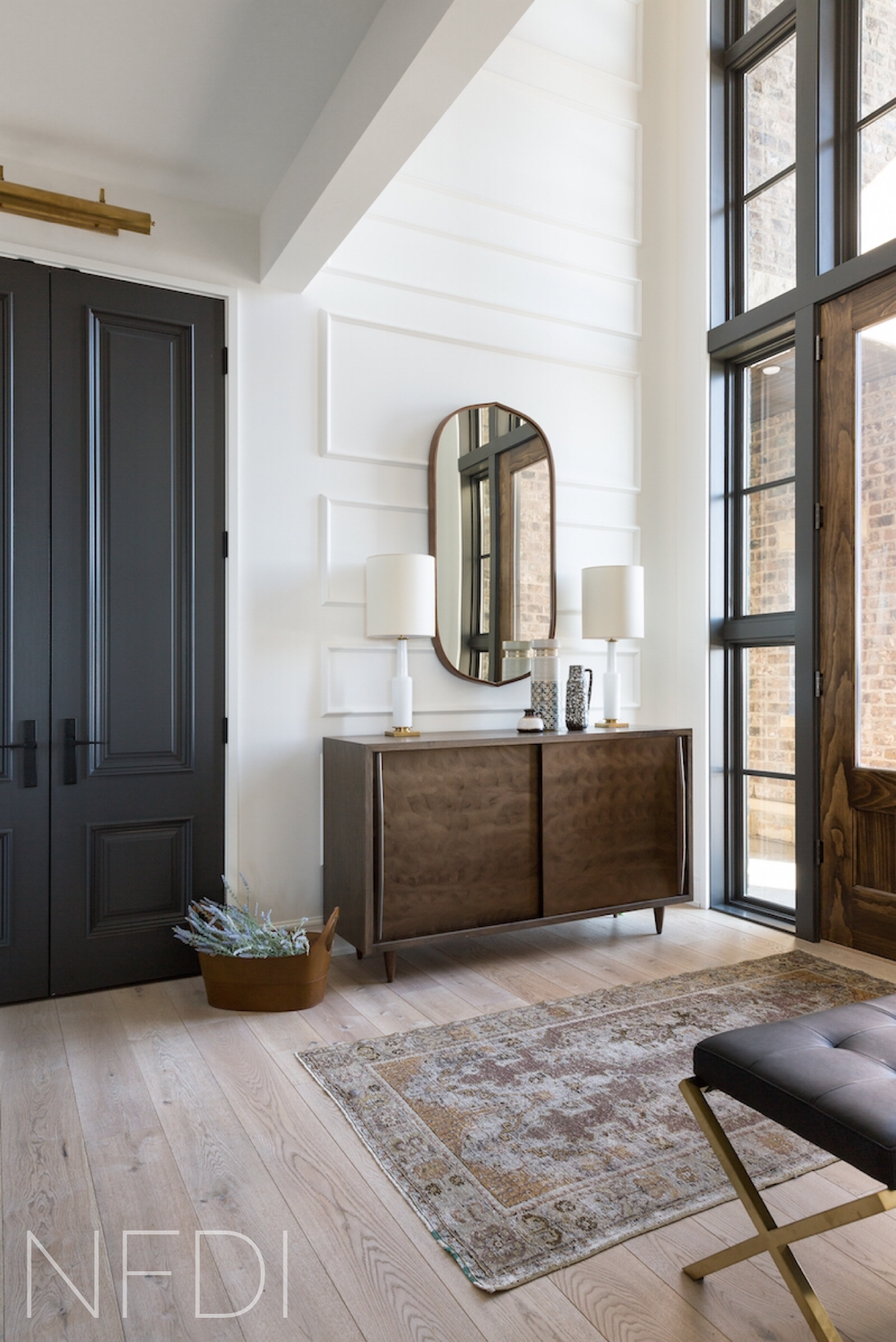 Country House Front Entry, Calgary Interior Designer, Nyla Free Designs, Architecture: DeJong Design Associates, Photography: Phil Crozier