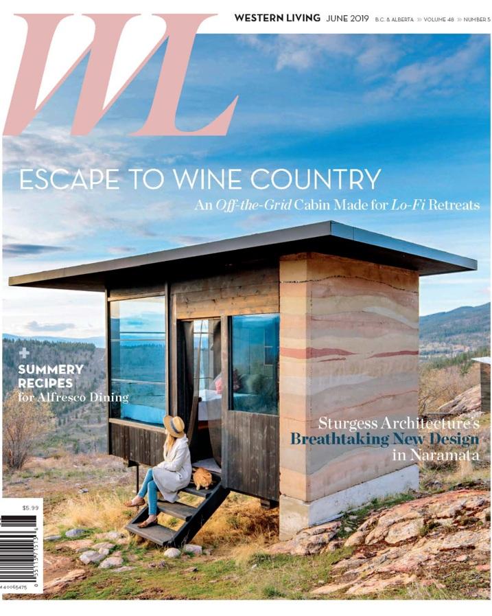 Nyla Free Designs, Western Living Feature, Naramata Modern Residence